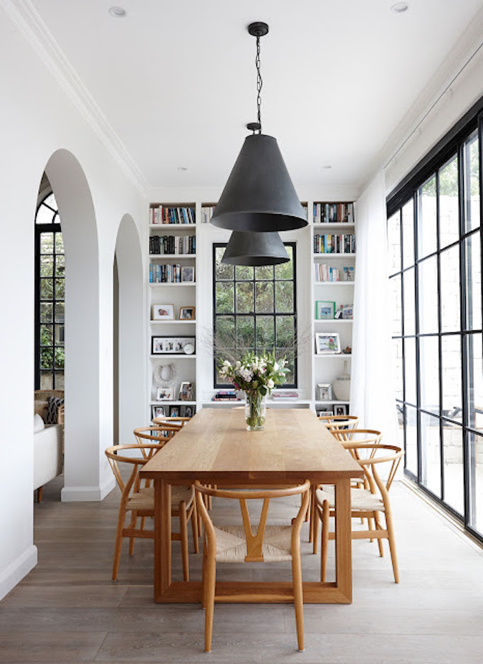 A Dining Room Design With California Style For A Young Family Designed