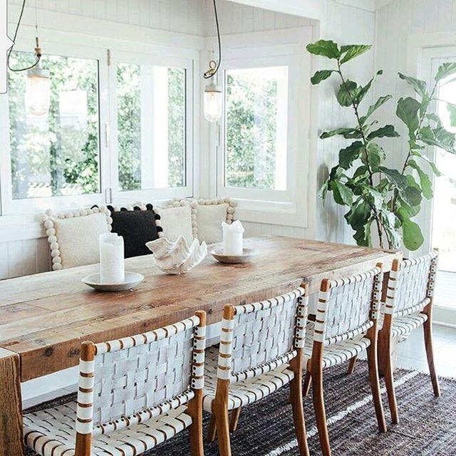 Coastal dining room | The Grove at Byron Bay | Image via:  bellamumma