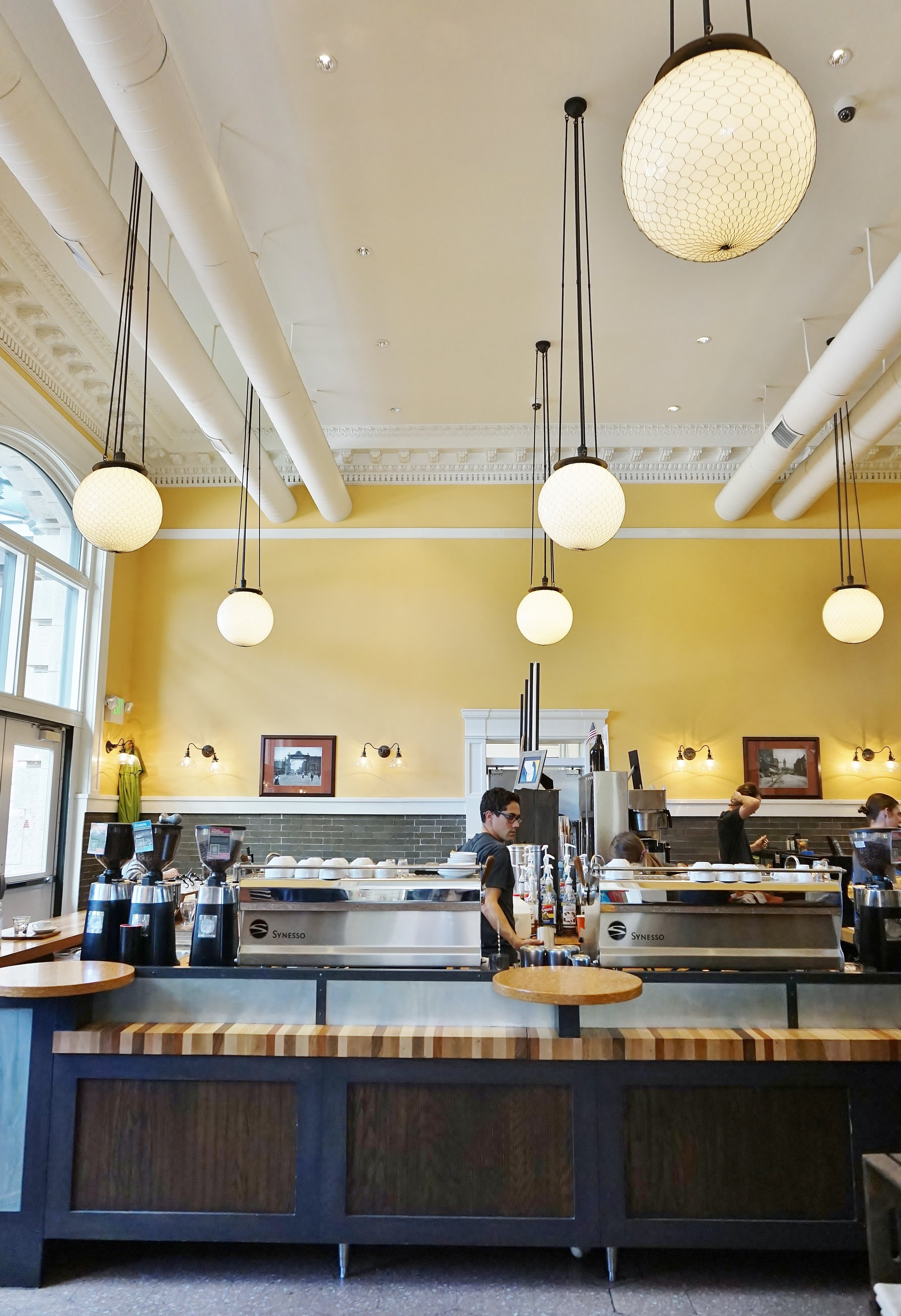 Coffee shop | The Crawford Hotel at Union Station | Denver, Colorado