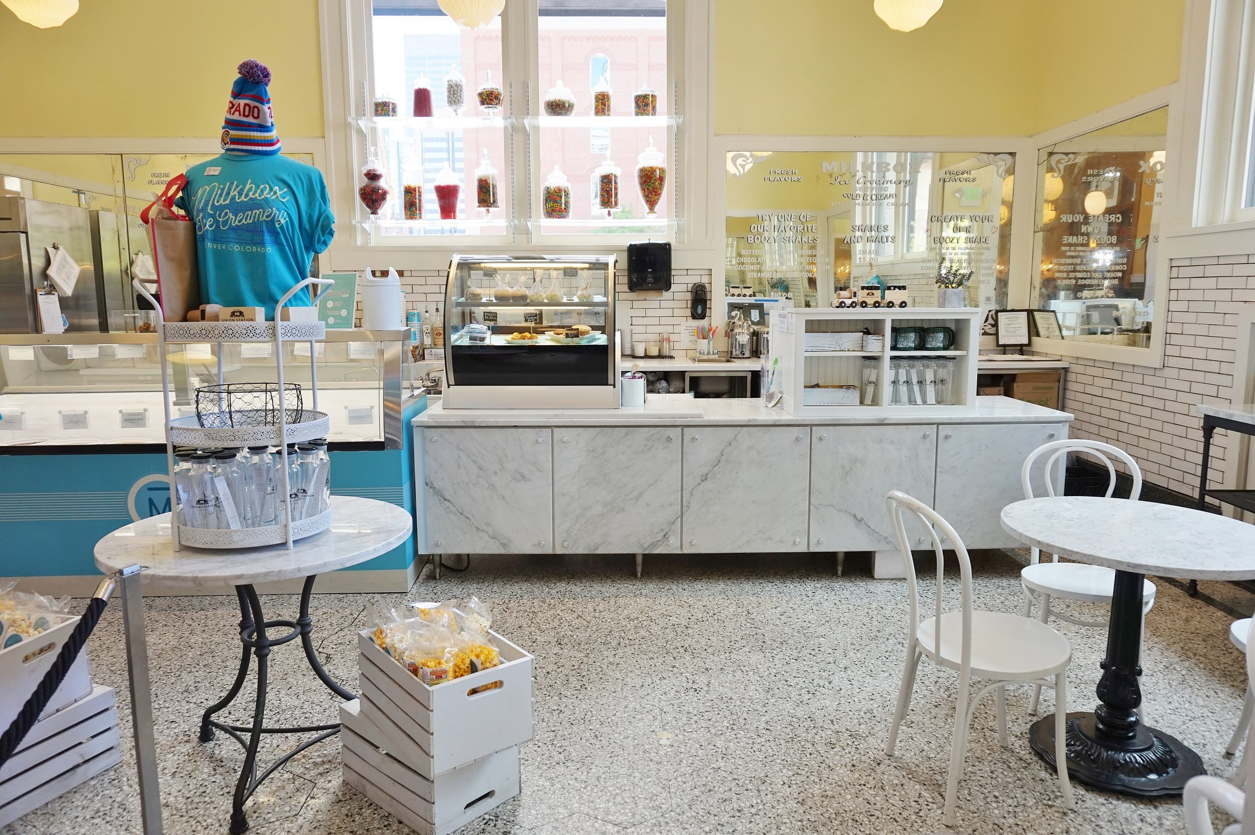 Ice Cream shop | The Crawford Hotel at Union Station, Denver