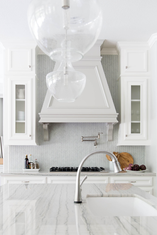 Macabus White quartzite countertops - Carla Aston Designer, Tori Aston Photographer