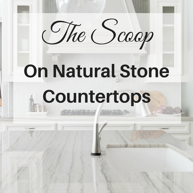 Scoop on Natural Stone Countertops