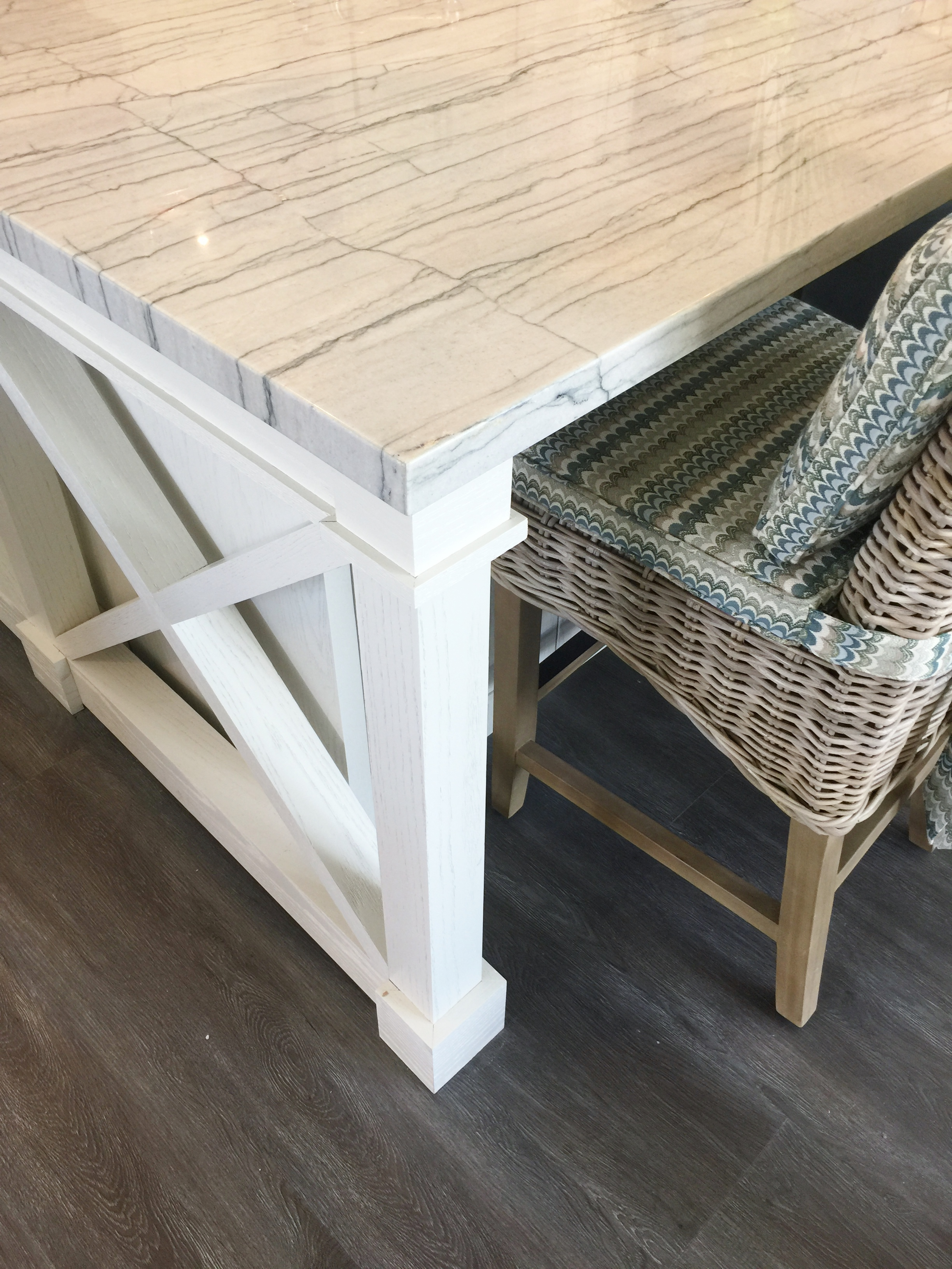 Guesthouse Kitchen Island - Designed by Chairma Design Group