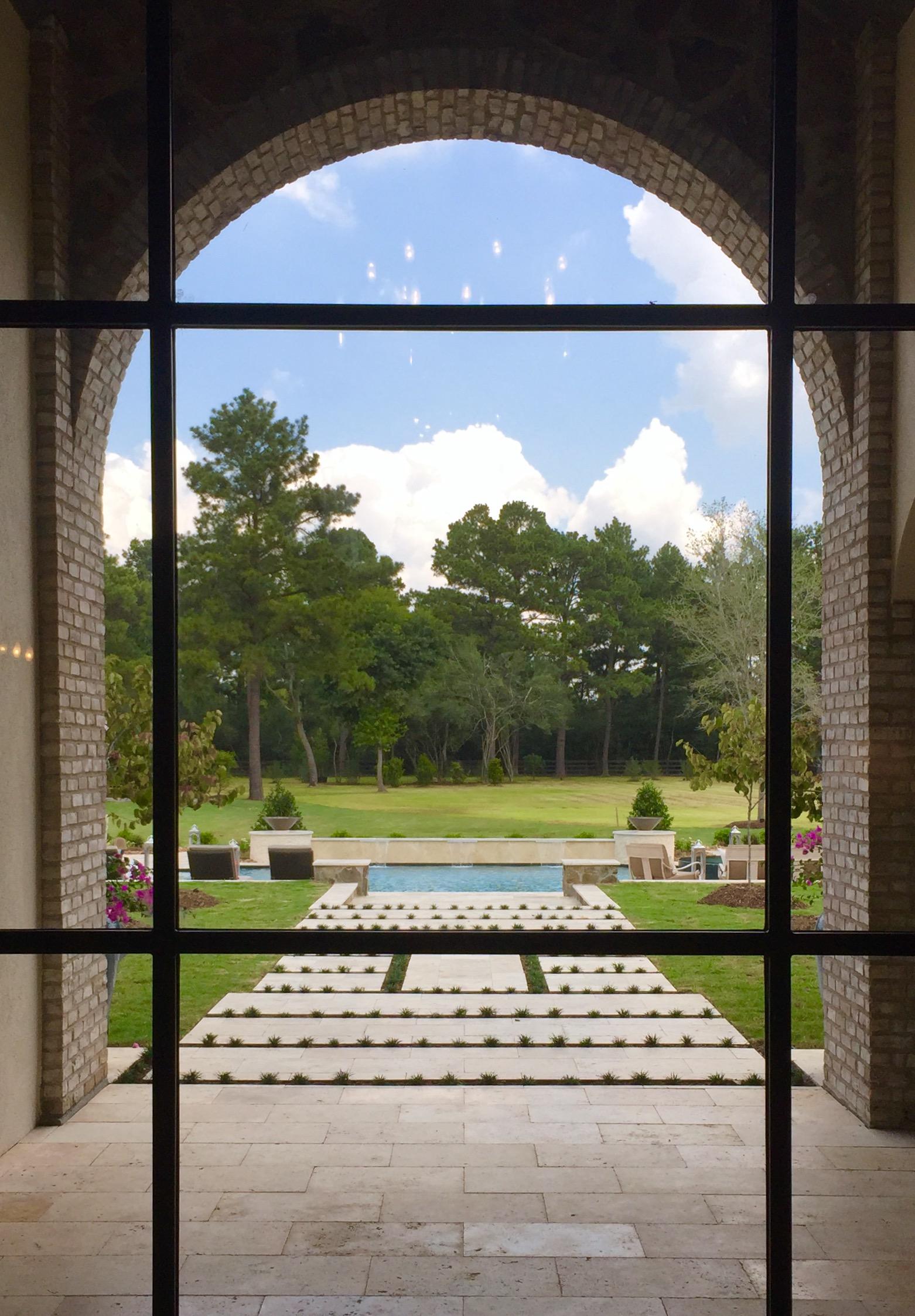 Outdoor grounds designed by Smelek Design