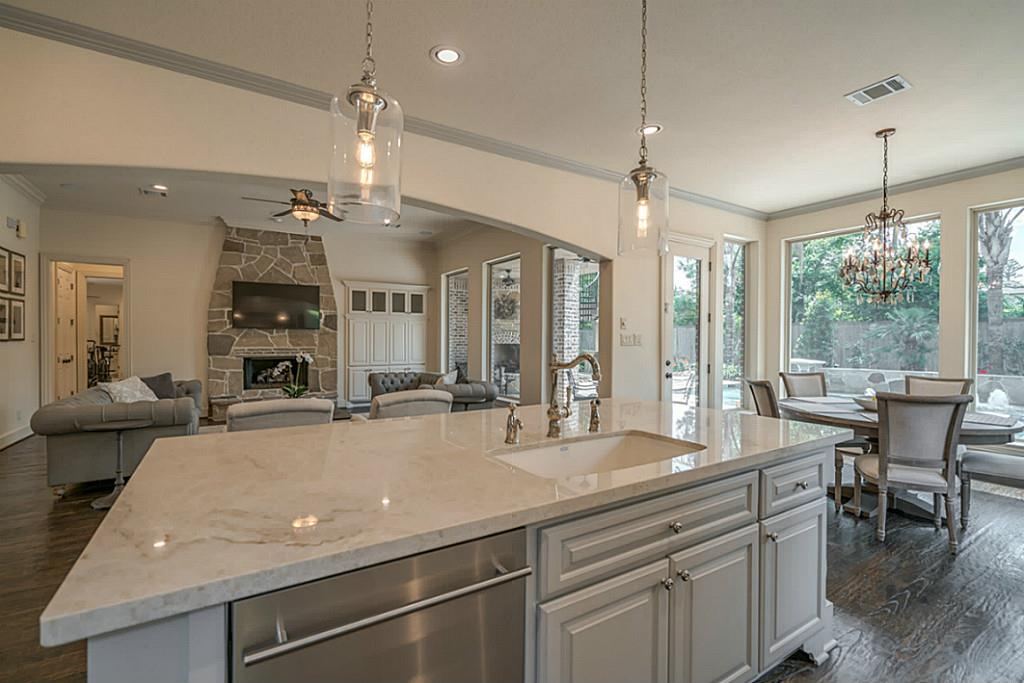 After Remodel - kitchen to family room view | Carla Aston Designer