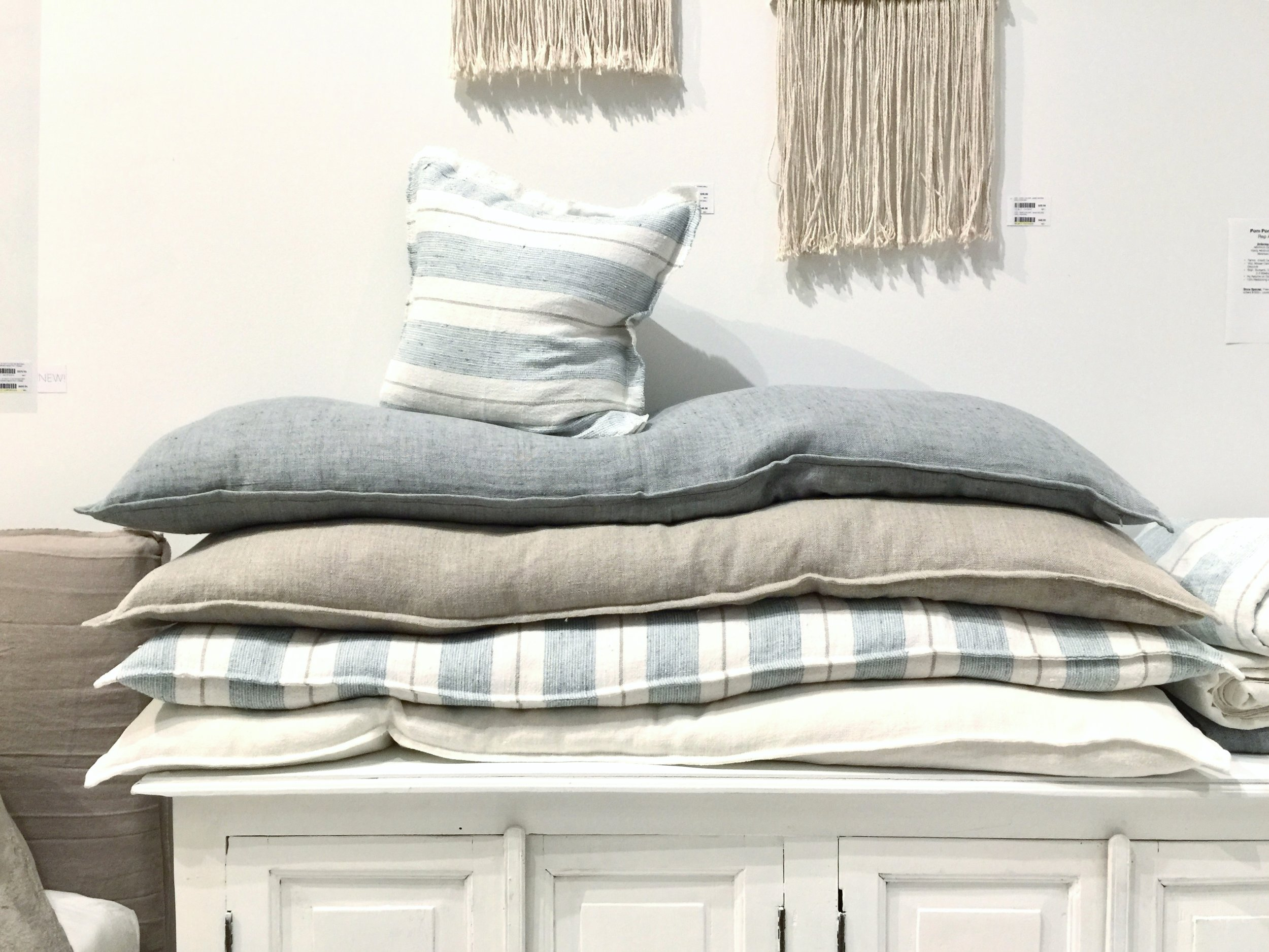 Long pillows at Codarus
