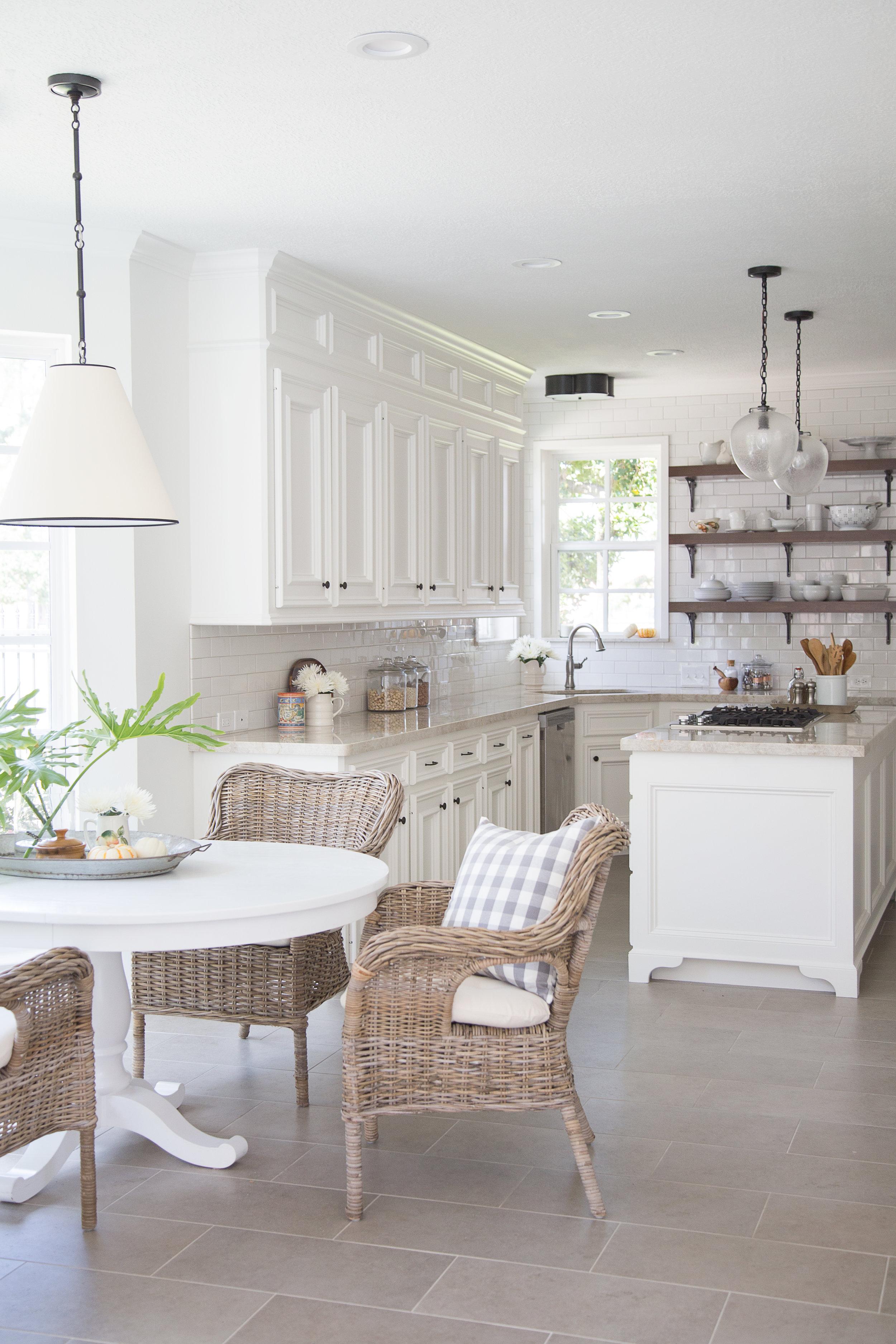 White kitchen remodel Carla Aston Designer