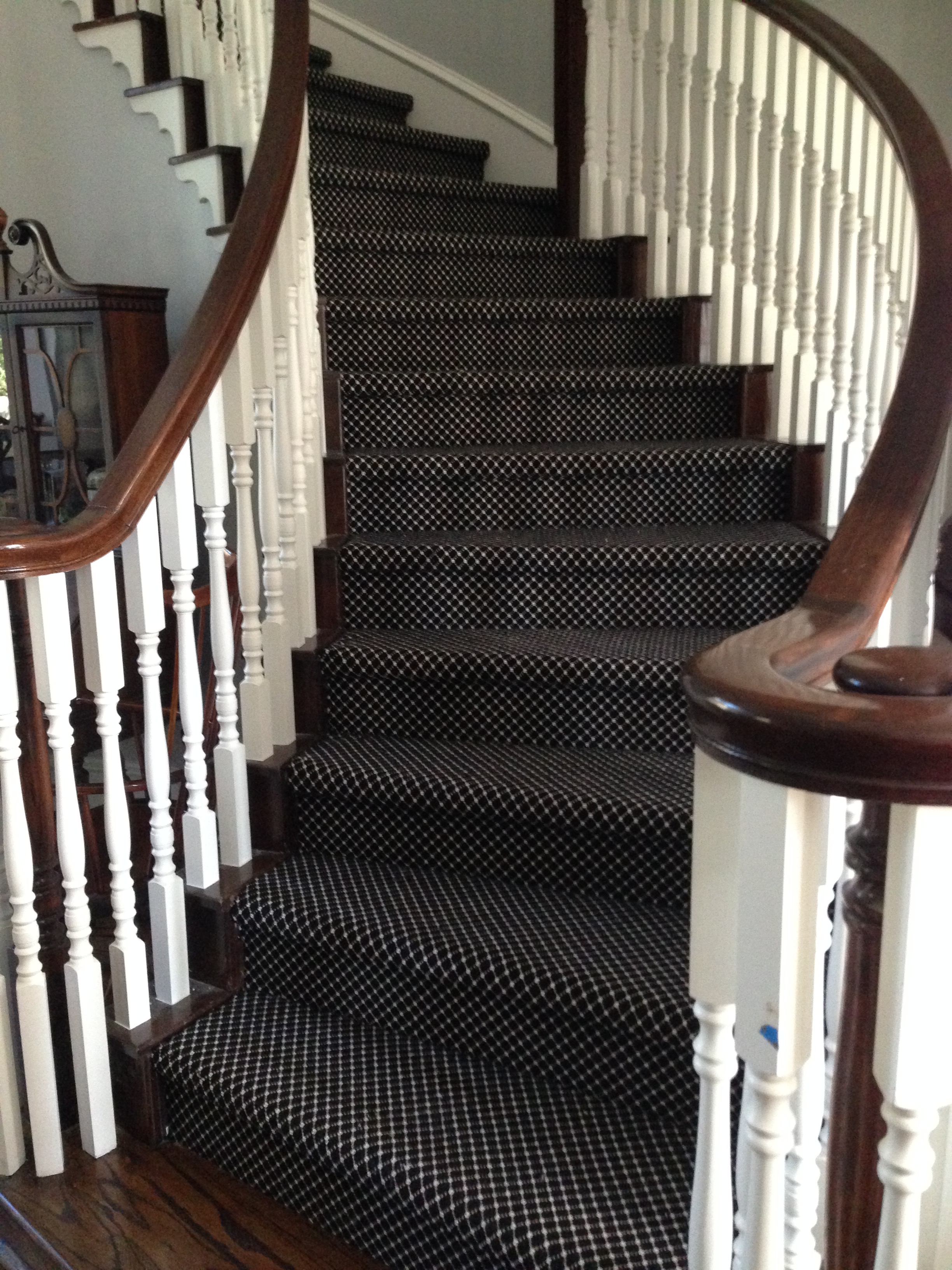 Should I Carpet My Stairs With The Same Carpet I Use