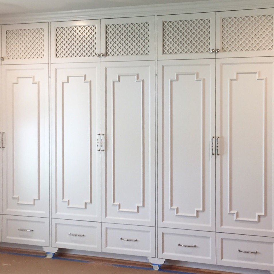 Wardrobe style closet