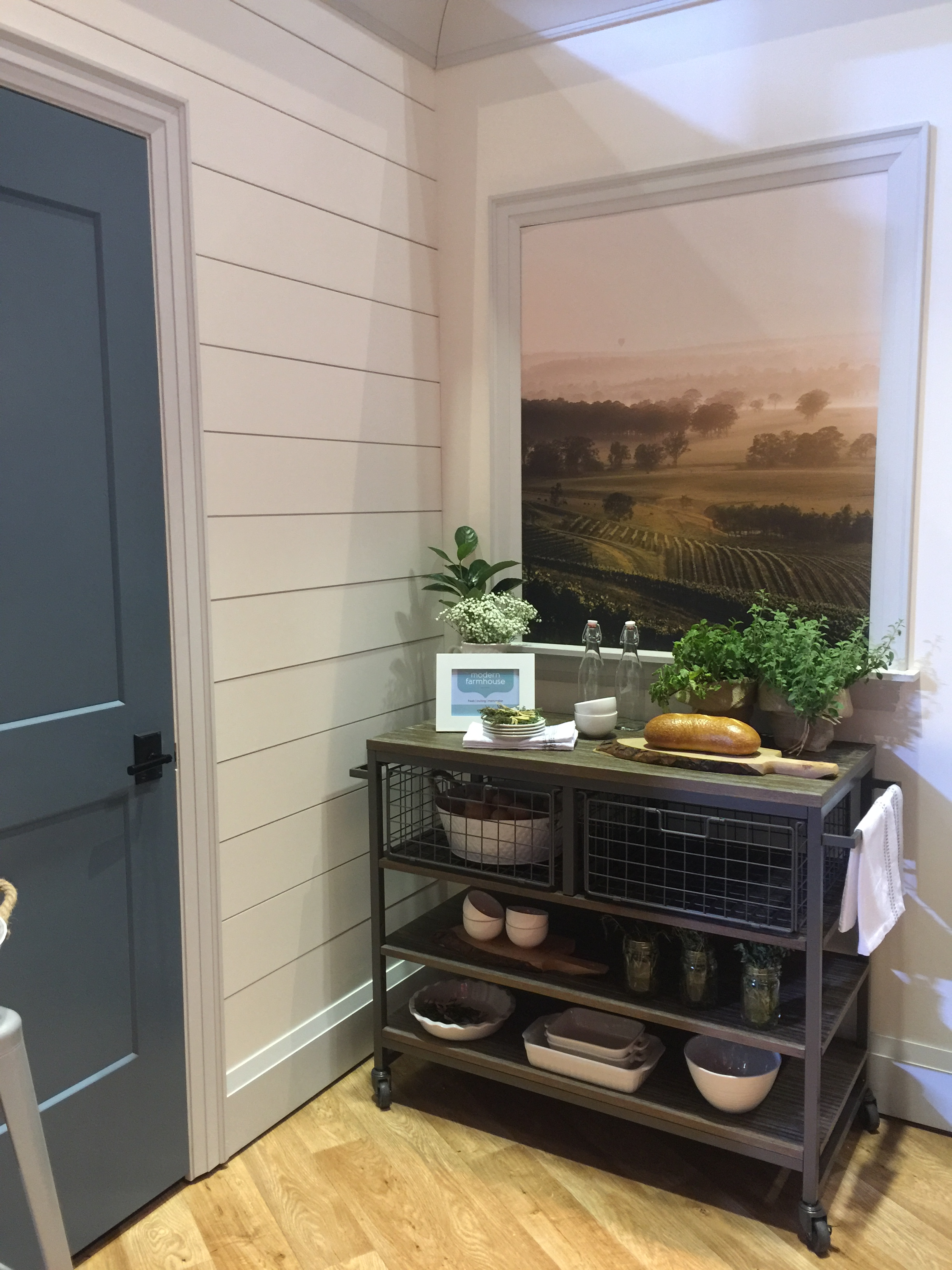 The Farmhouse collection has shiplap and other simple mouldings that work well with this style. #shiplap #farmhousestyle #mouldings #interiordesigntips