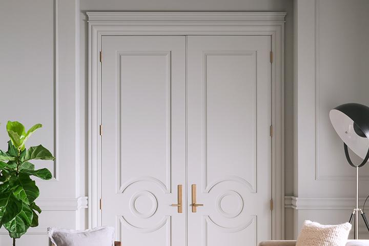 Metrie's Then and Now Collection of mouldings and doors #mouldings #paneleddoors #doors