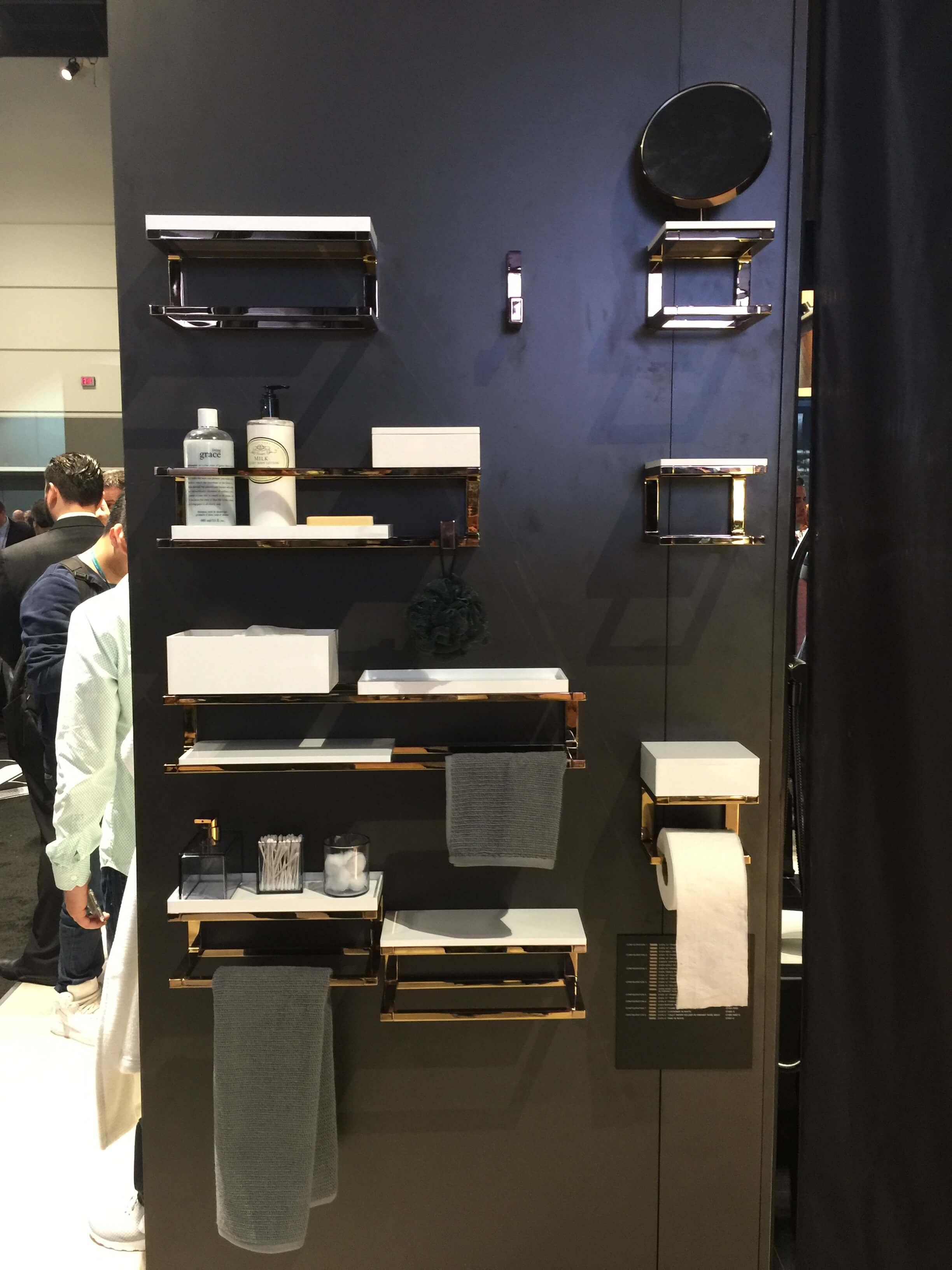 New bath accessories line from Kohler #towelbar #toiletpaperholder #bathroom