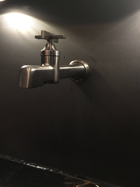 Brizo wall mount faucet #wallmountfaucet