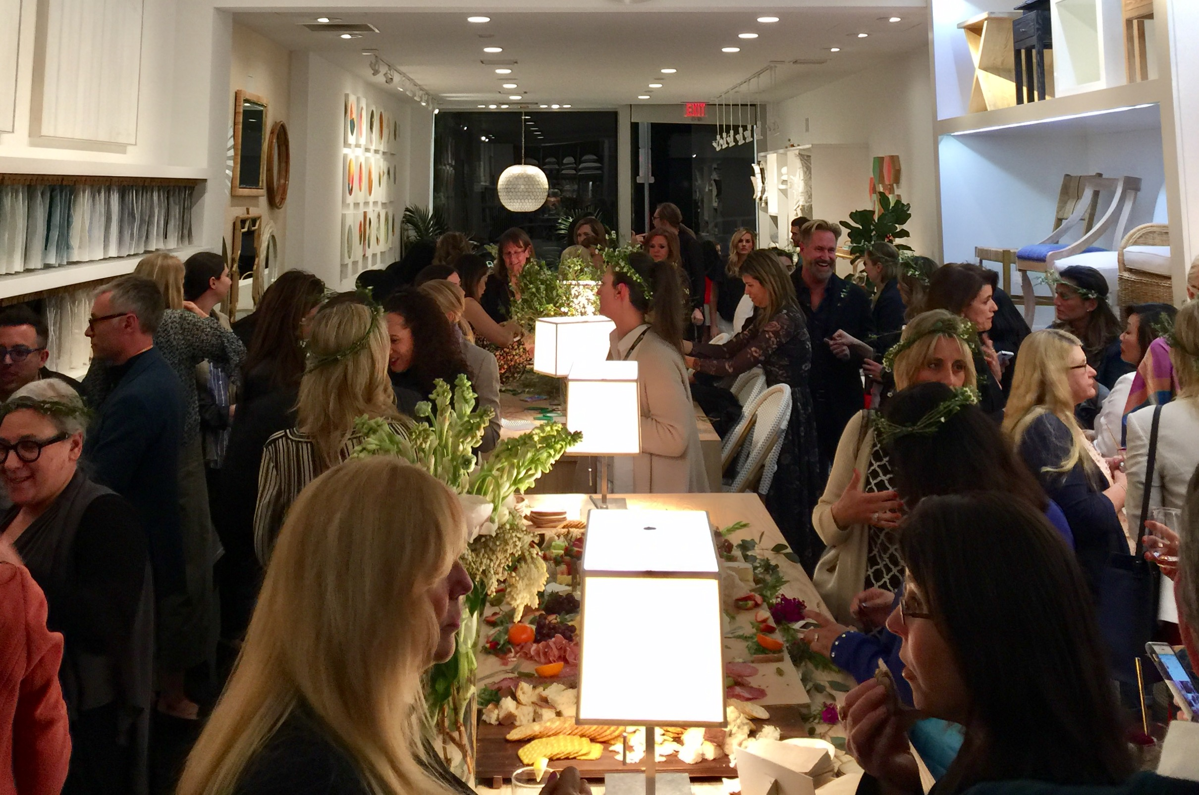 Design Bloggers Conference Party at Serena and Lily in LA, March 2017