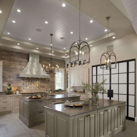 Kitchen in The New American Remodel - Orlando, KBIS #kitchen #kitchenhood #kitchendesign