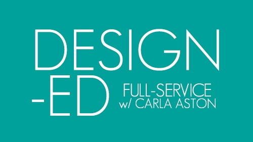 A link to my full service interior design offering