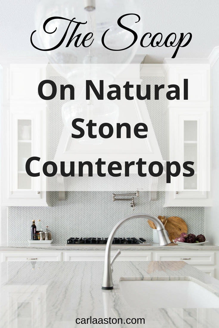 The Scoop On Natural Stone Countertops