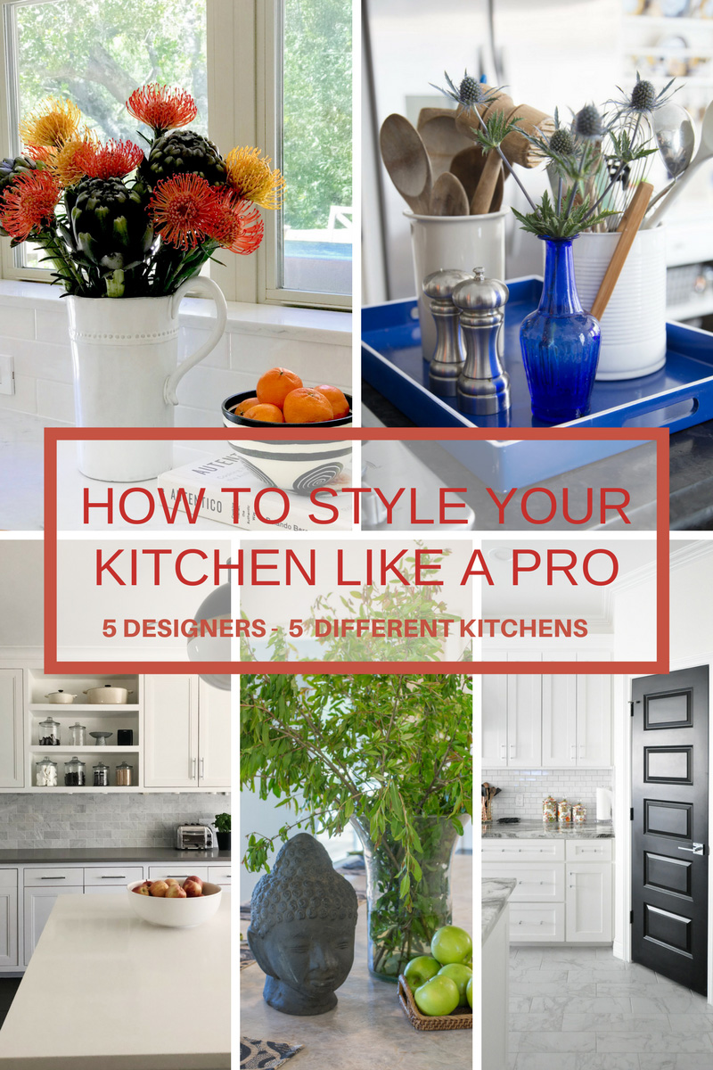 Kitchen Styling from Five Designers