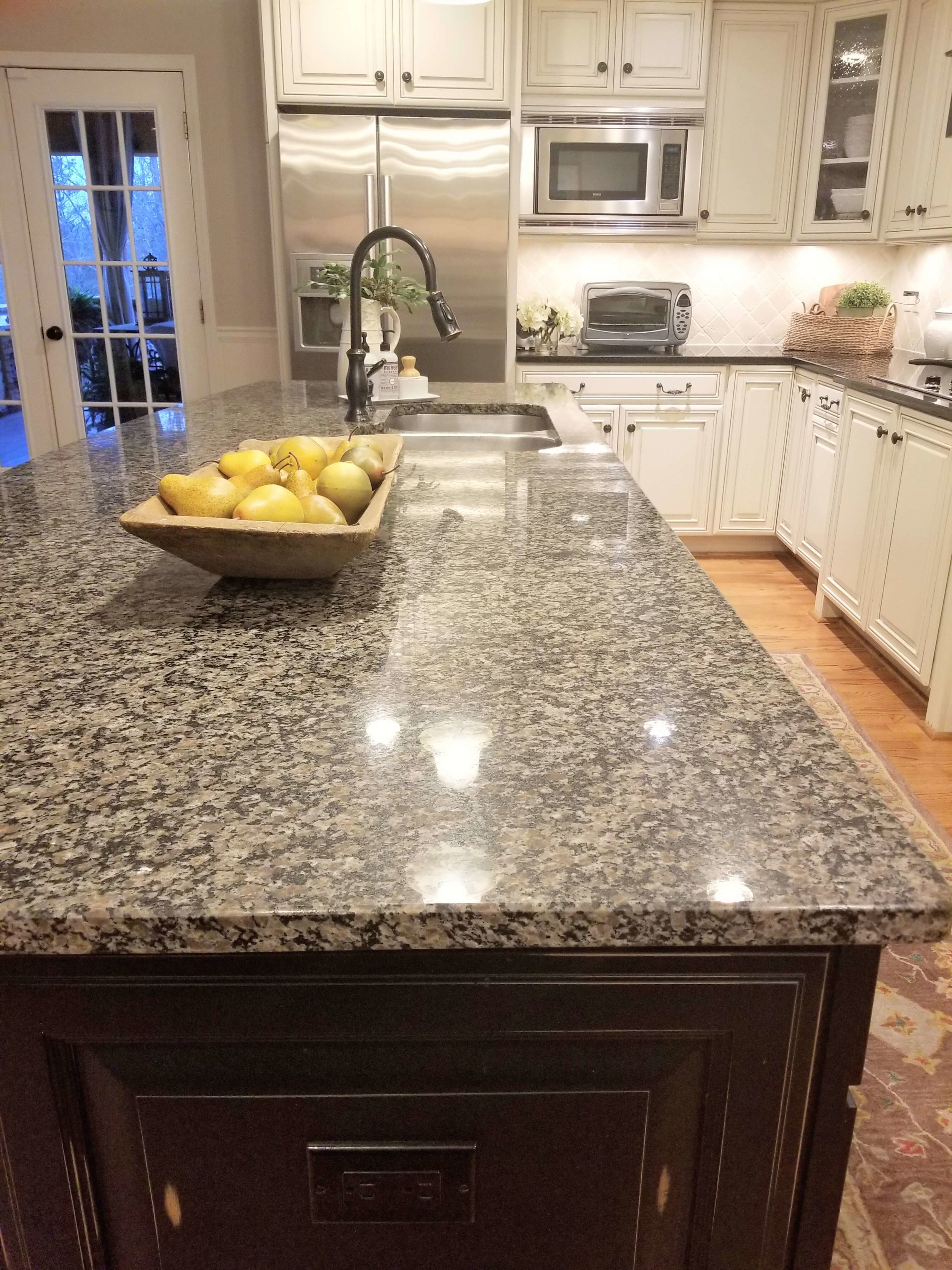How A Simple Kitchen Island Countertop Change Can Totally ...