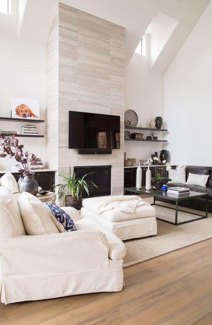Remodel - Fireplace, built-ins, flooring, paint