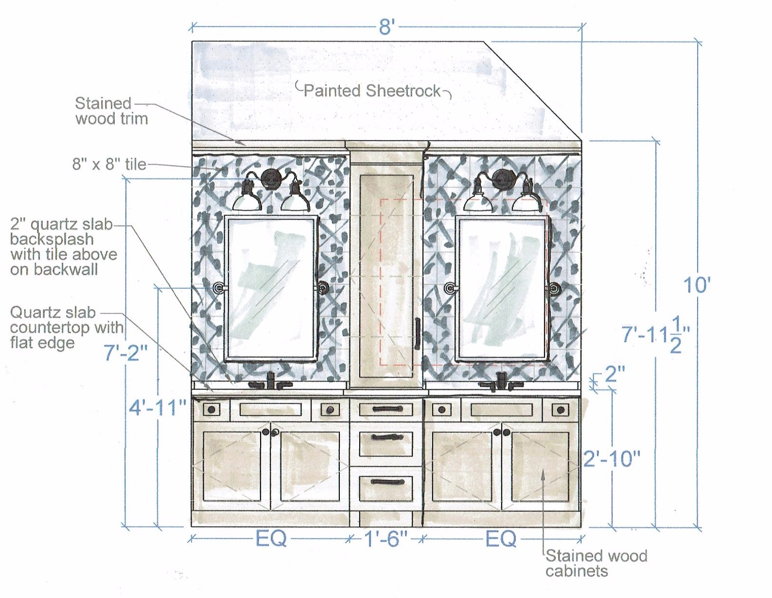 Remodeling A Master Bathroom Consider These Layout Guidelines Designed