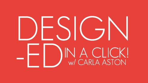 Designed in a Click - Q&A design service, done via email.