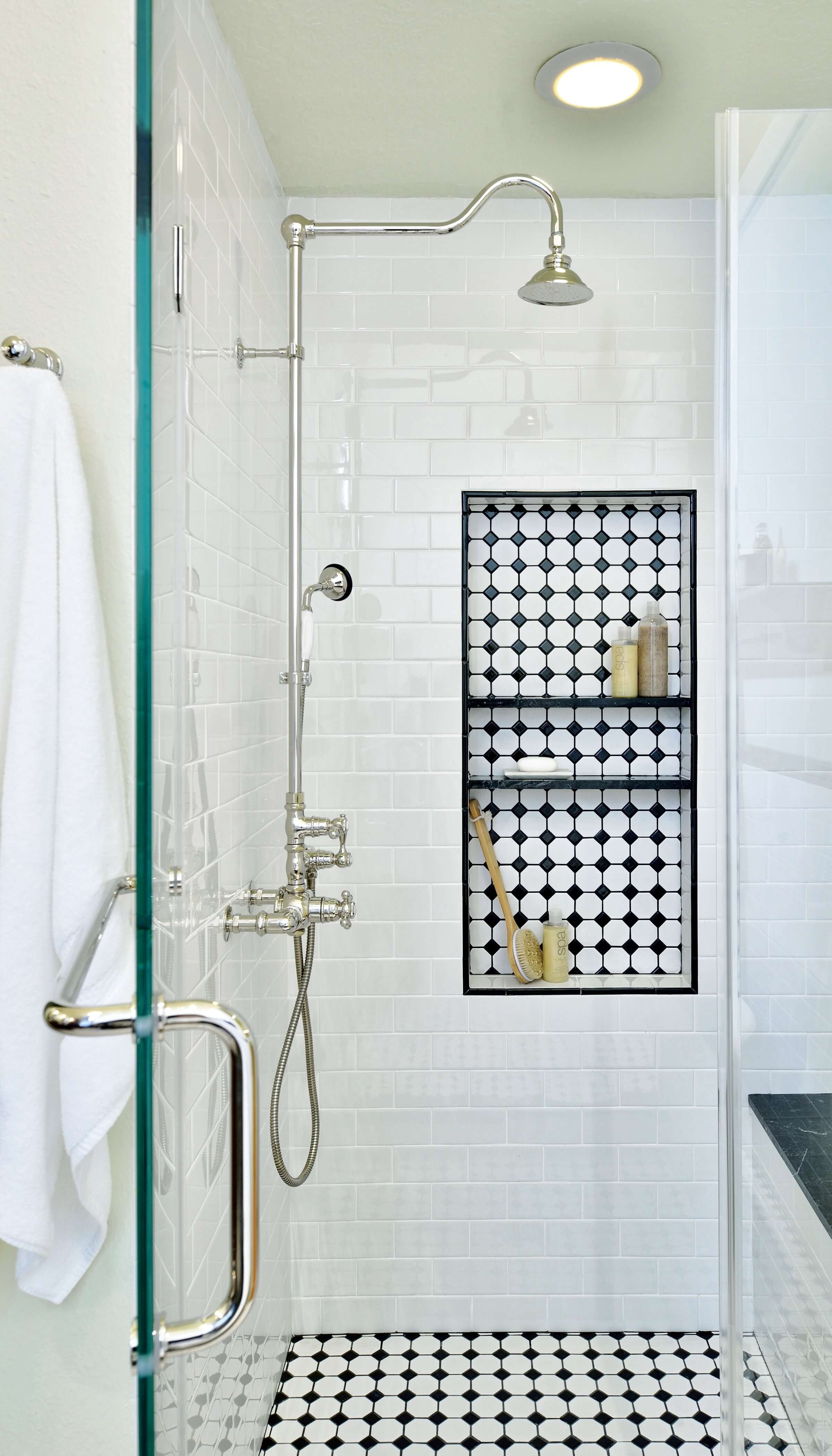 25 Beautiful Shower Niches For Your Bath Products