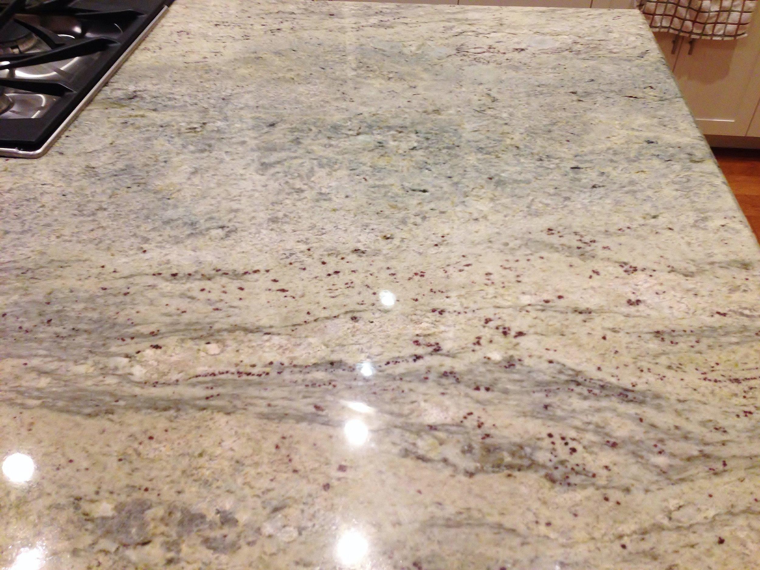 Granite countertop - Ventura California rental house review tour