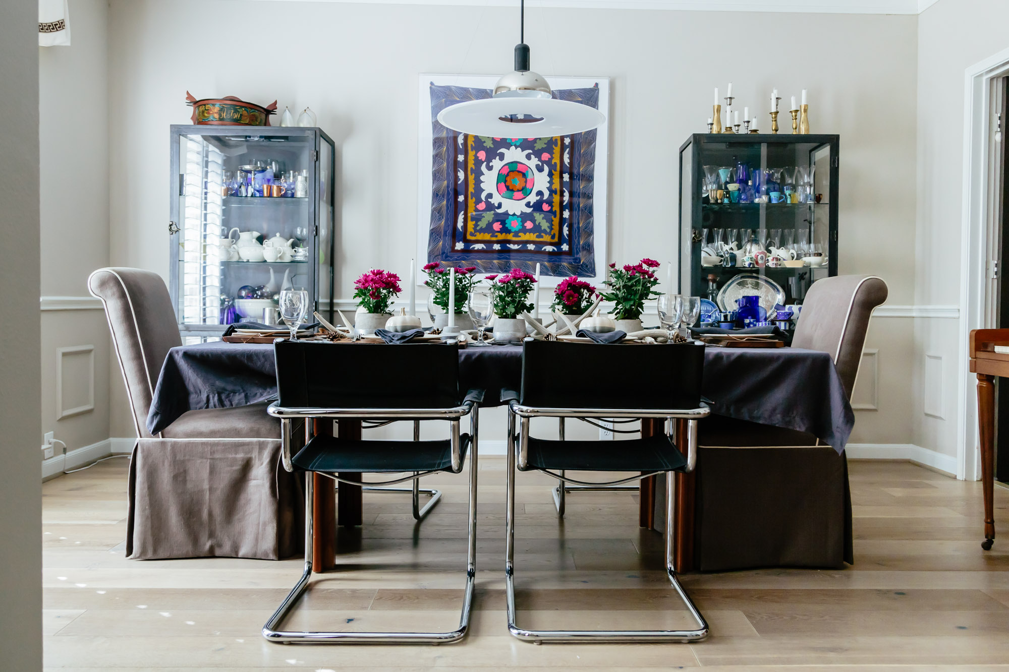 Dining room paint color change - Carla Aston, Designer | Tori Aston, Photographer