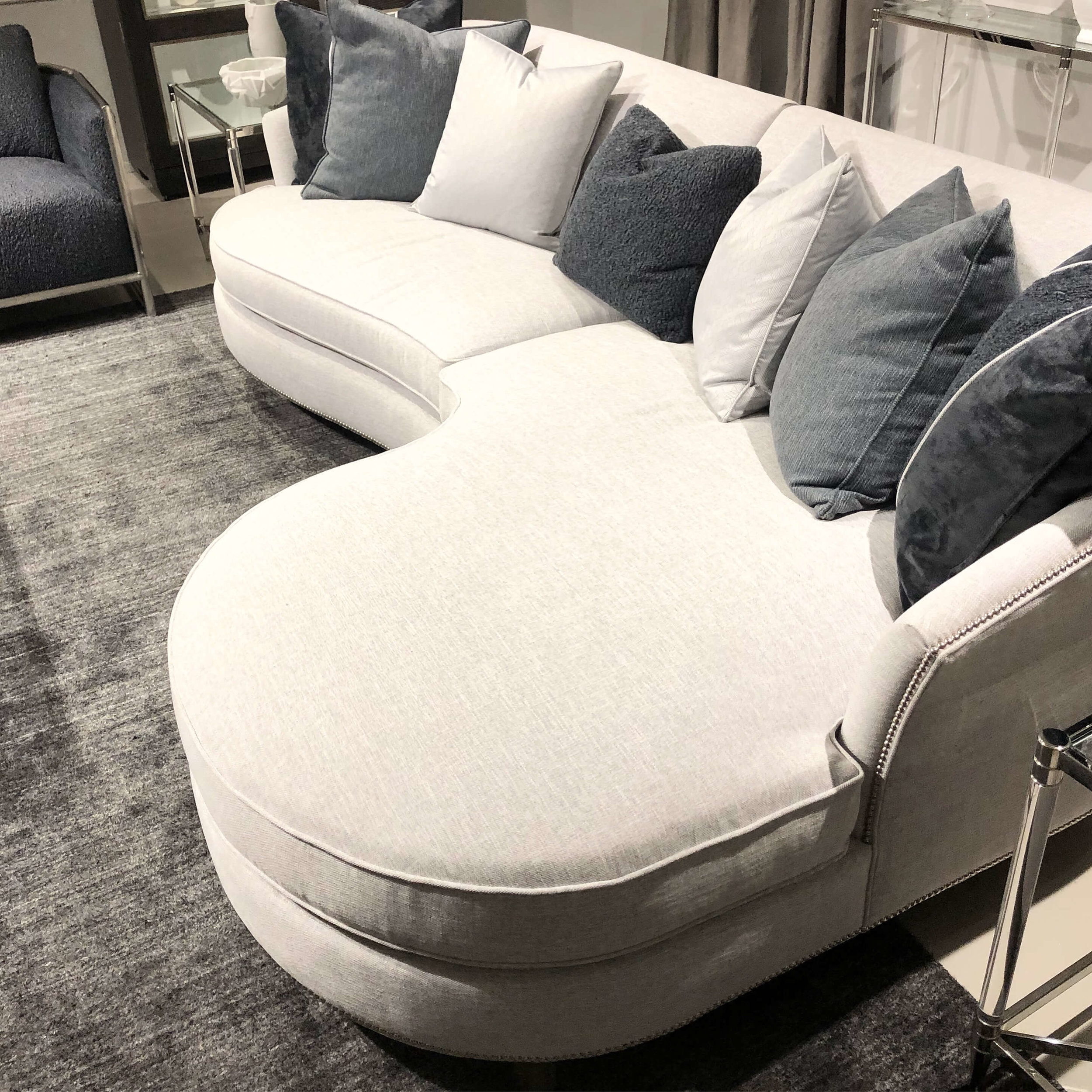 This sofa looks like the perfect place to snuggle and watch some Netflix, from Bernhardt