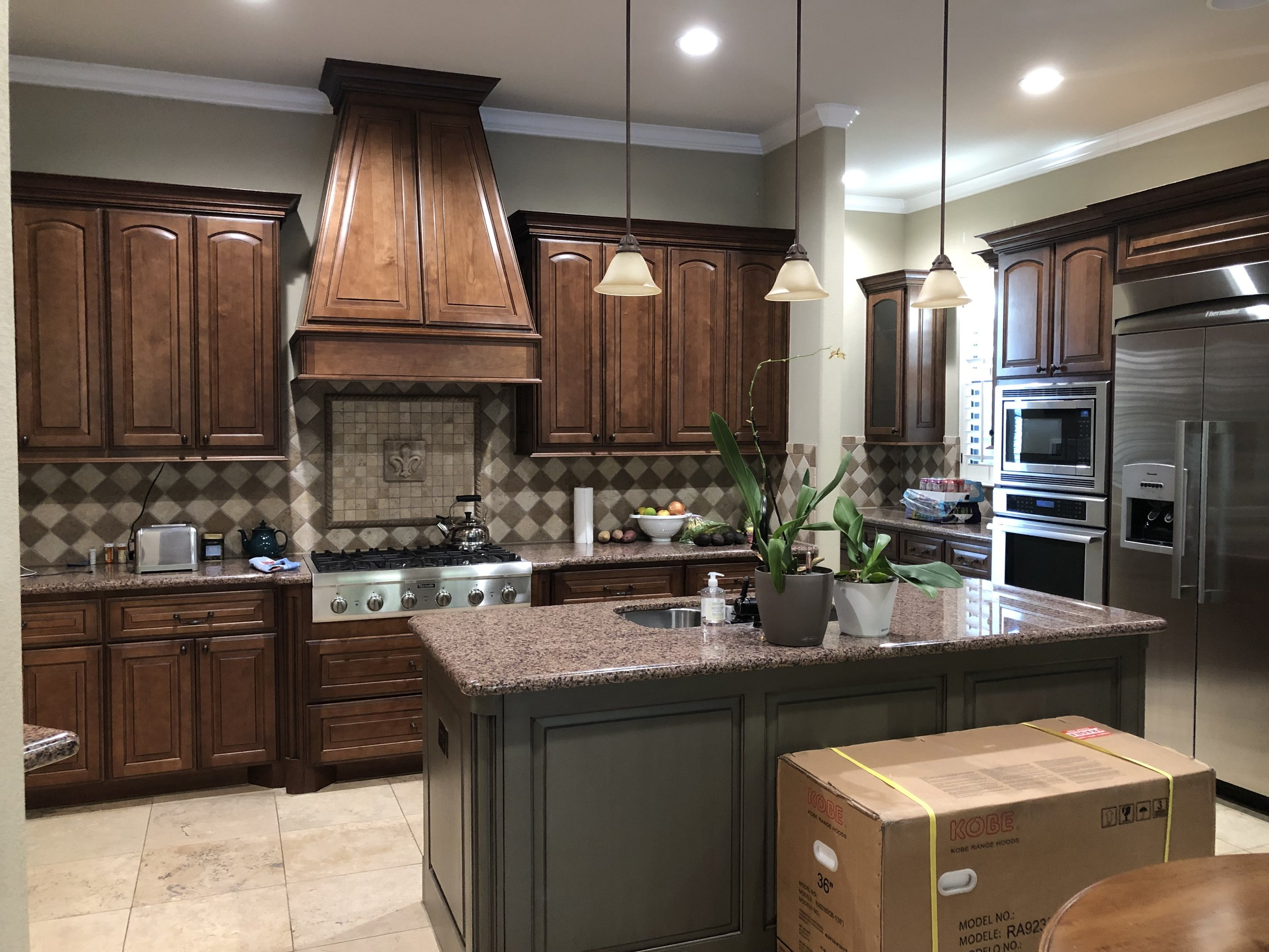 BEFORE KITCHEN REMODEL - Project starting construction