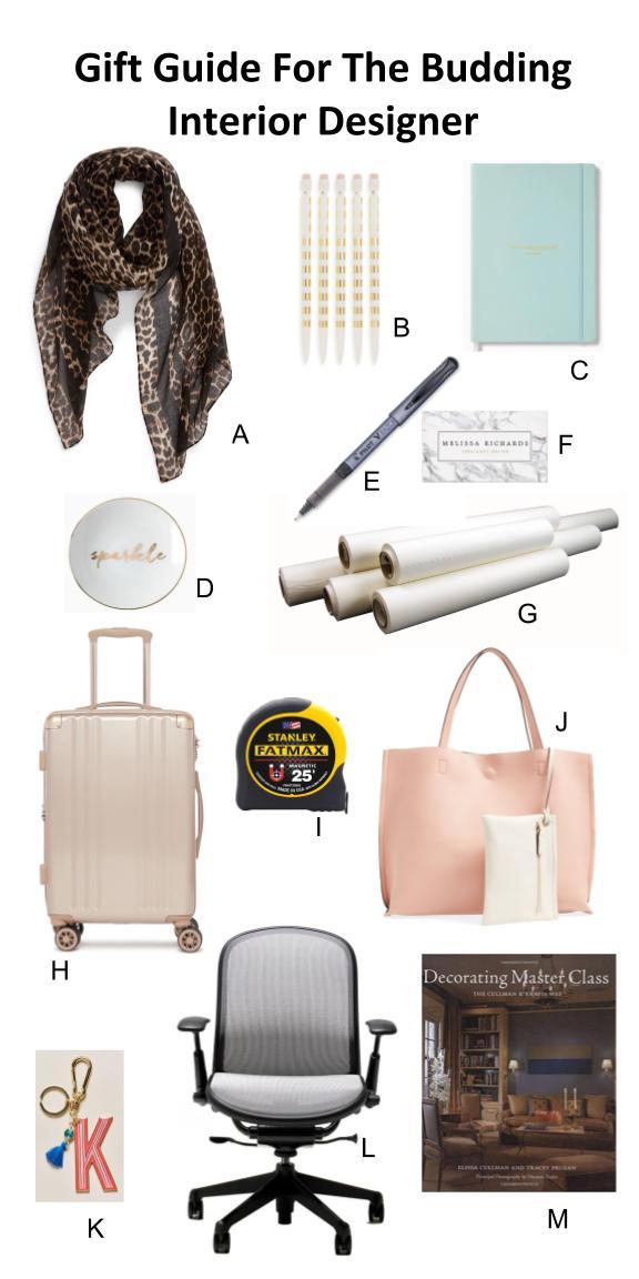 Gift Guide For The Budding Interior Designer