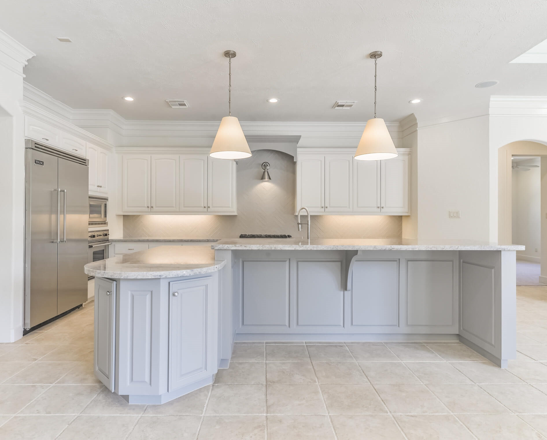 AFTER - Kitchen Remodel in house to sell