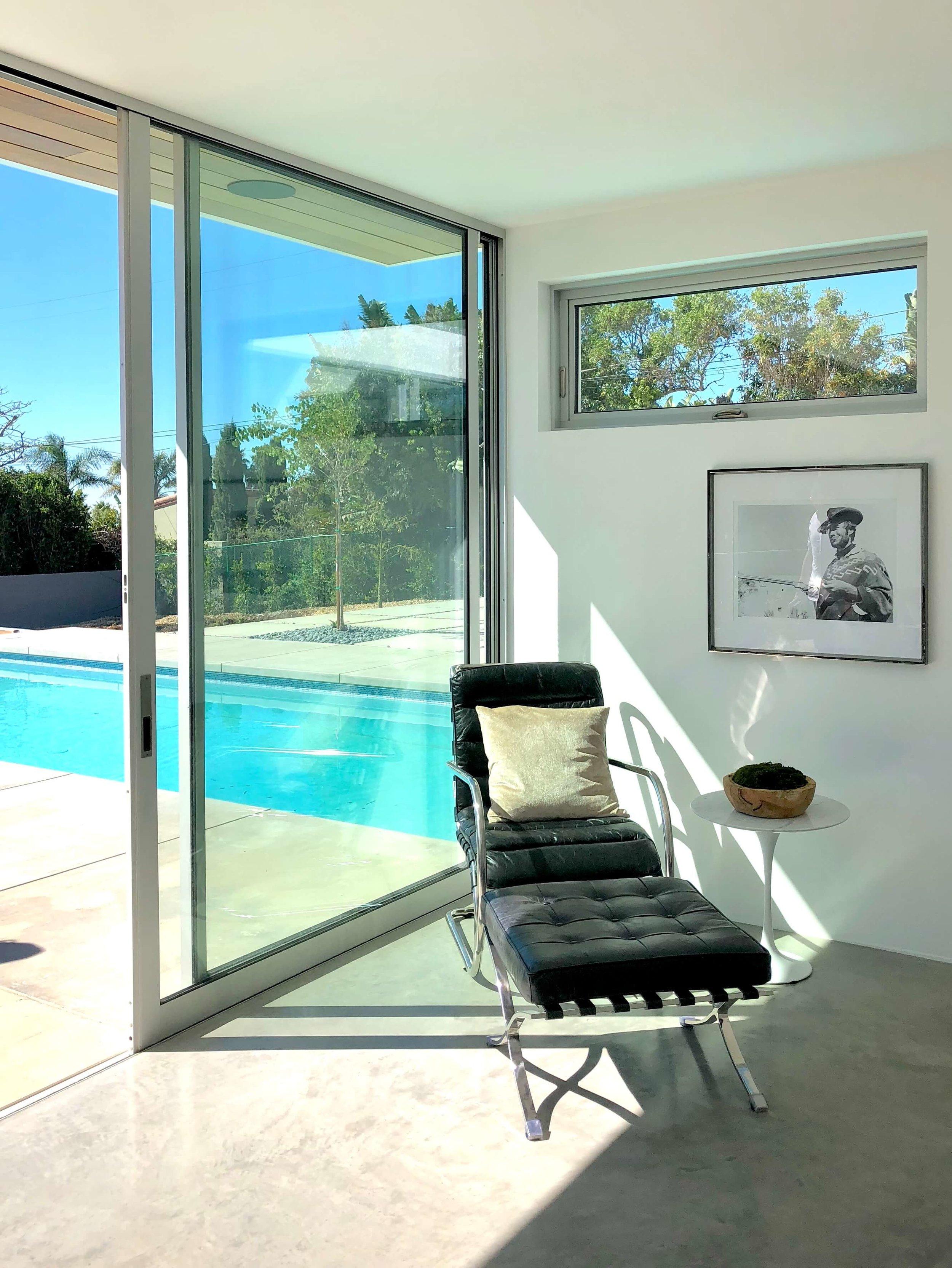 California contemporary design - Dwell on Design's Fall Home Tour, Designer: Vitus Mitare #contemporaryarchitecture #slidingglassdoor