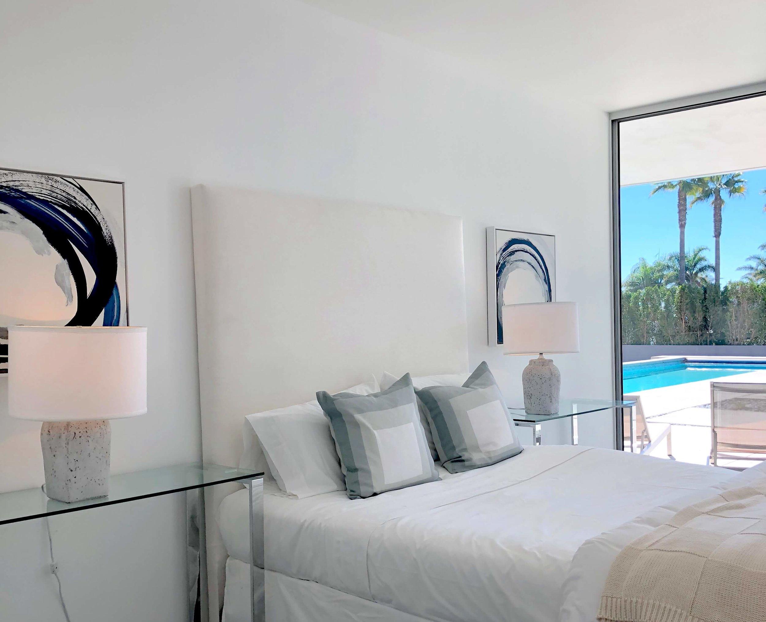 California contemporary design - Dwell on Design's Fall Home Tour, Designer: Vitus Mitare #contemporaryarchitecture #bedroom #slidingglassdoor