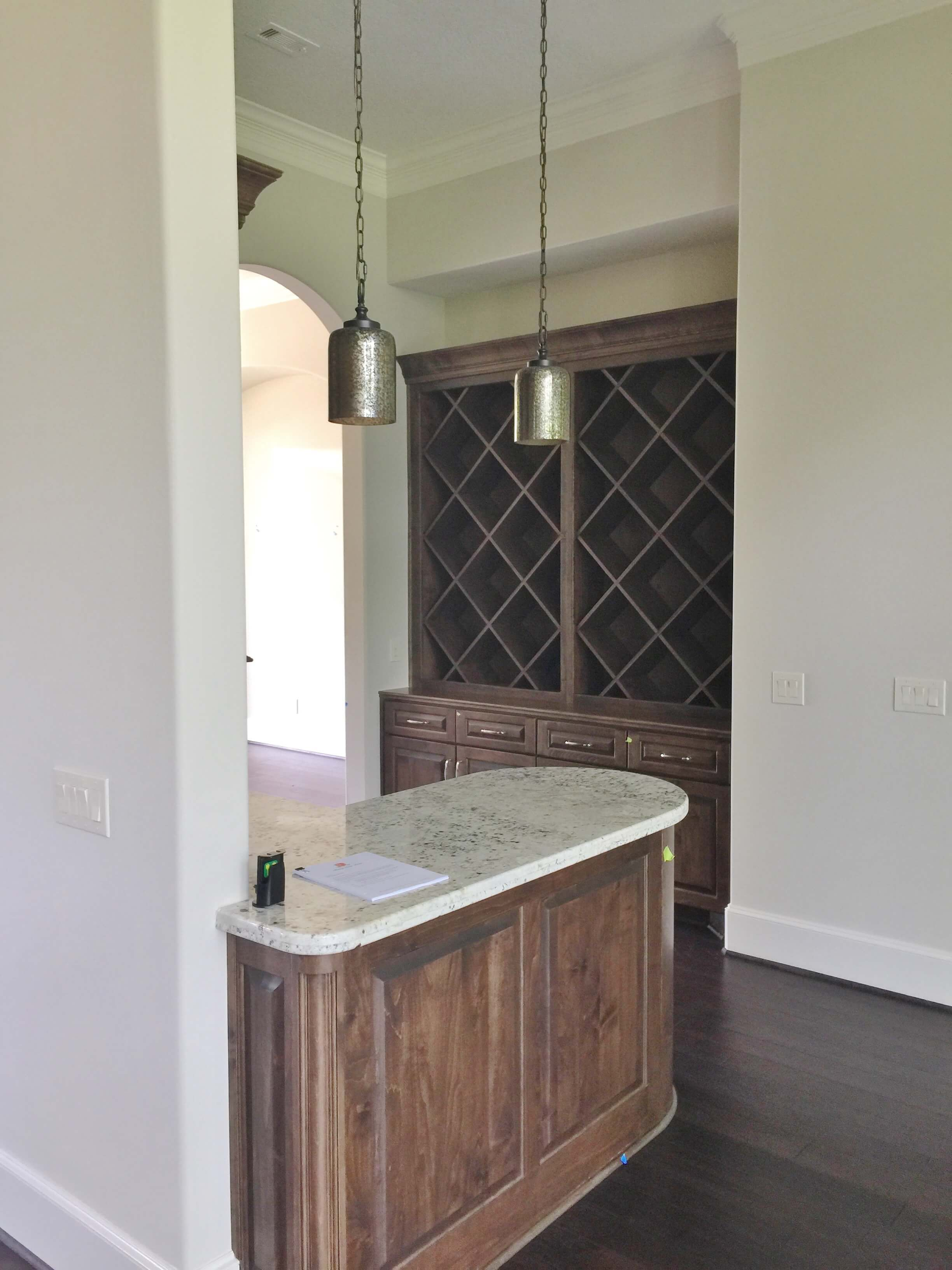 BEFORE PIC - Home wine bar transformation | #remodeling #cabinetry #butlerspantry