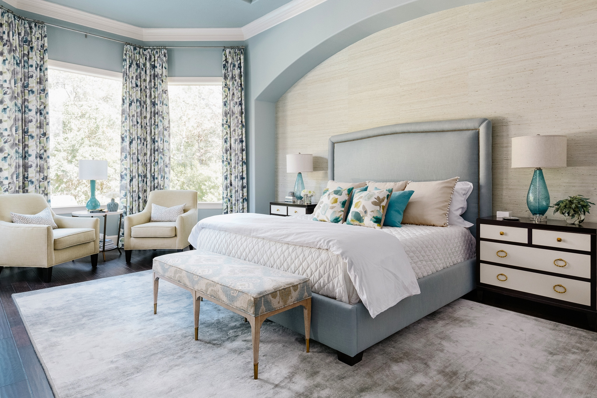 Project Reveal A Luxurious Master Bedroom Retreat Designed