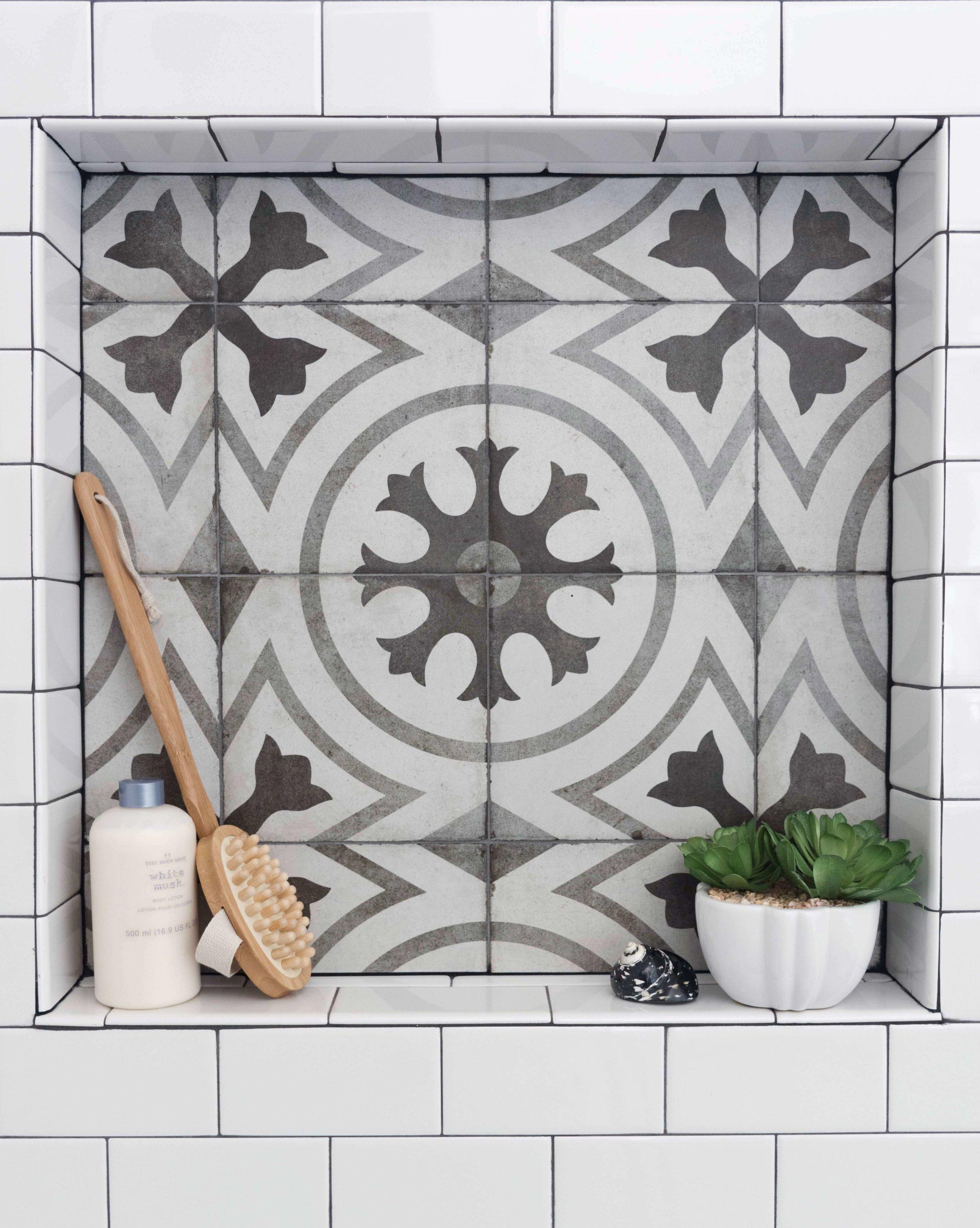 Shampoo niche in Bathroom Remodel by Carla Aston.jpg