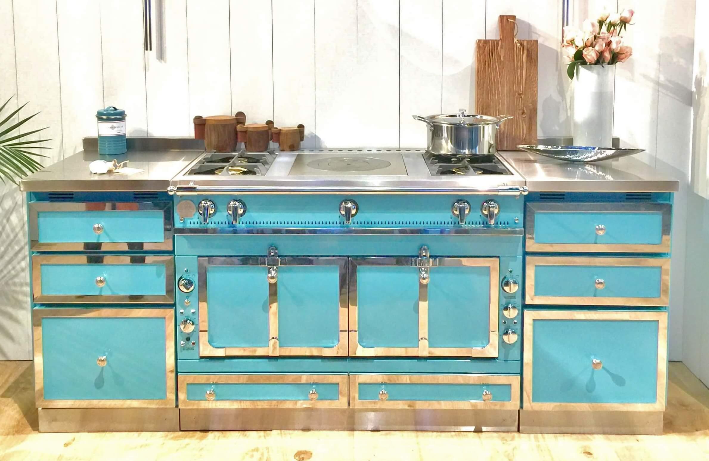 La Cornue range - KBIS Kitchen and Bath Industry Show