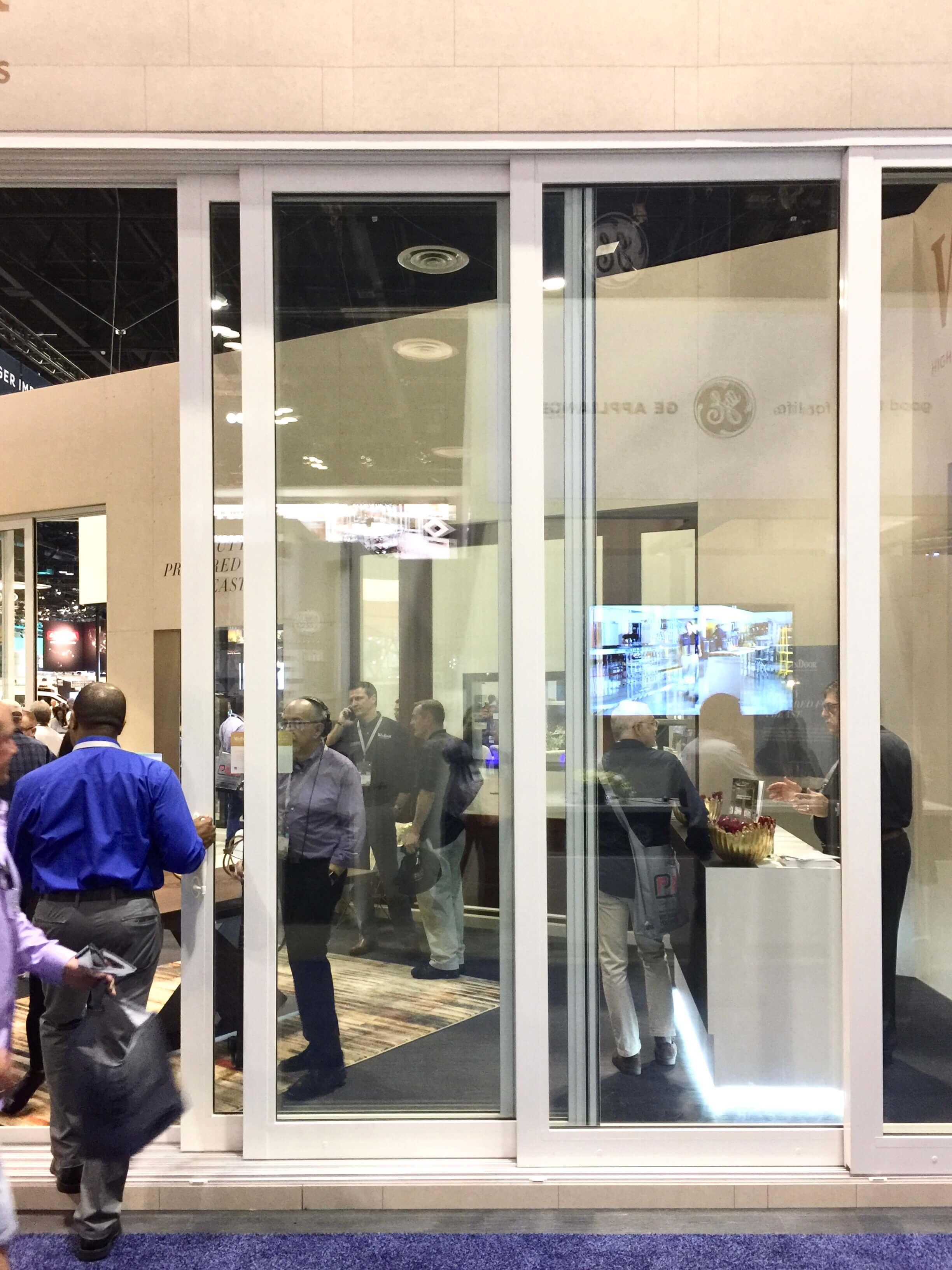 Oversized sliding glass doors - IBS, International Builder Show