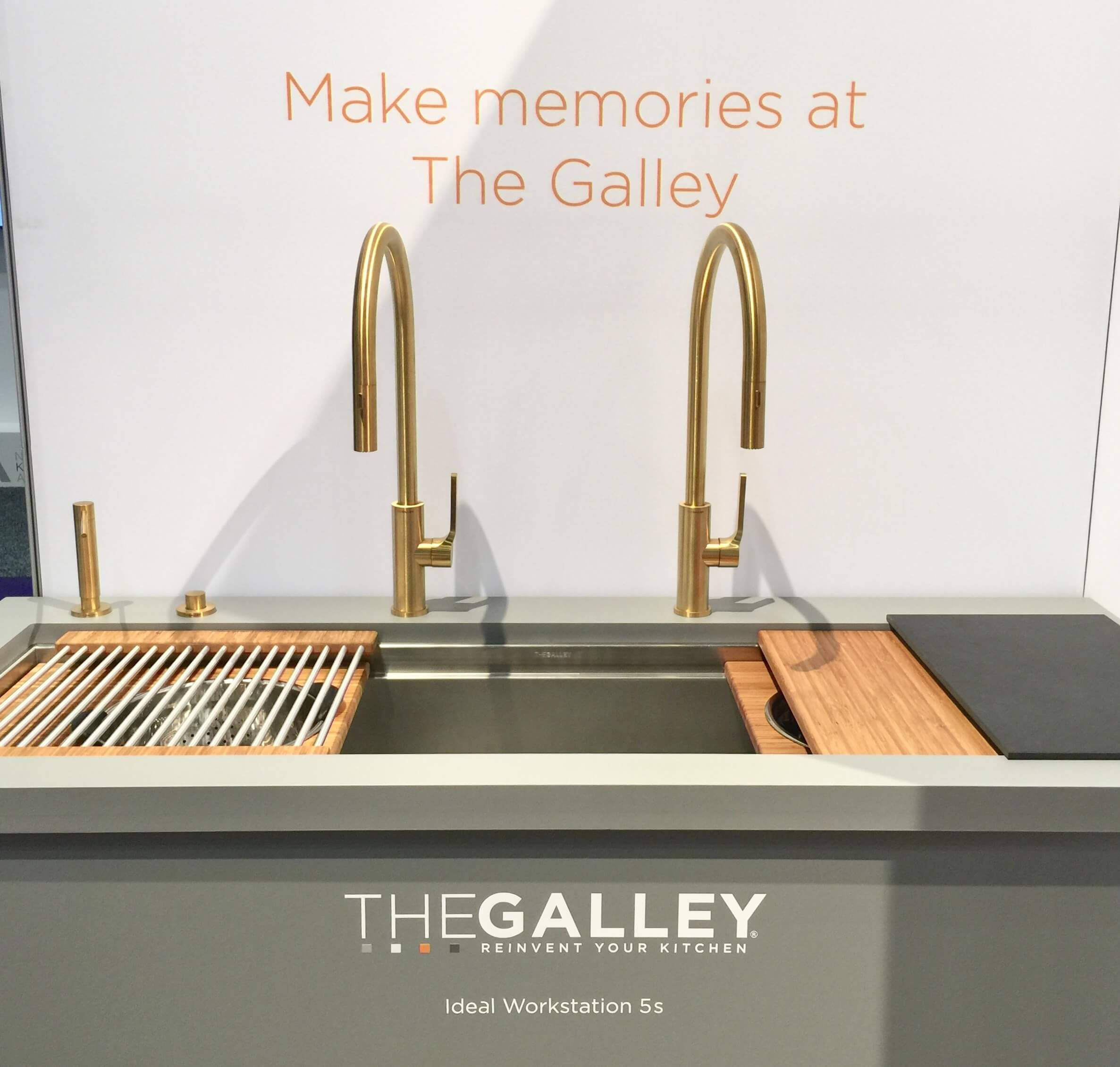 The Galley - extra long sinks and workstations | KBIS, Kitchen and Bath Industry Show