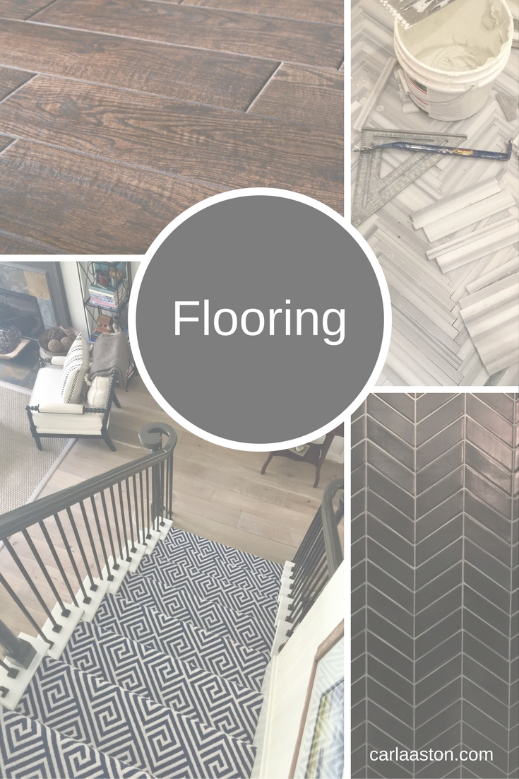 Check out this Flooring Guide, full of info on how to select the best flooring for your home.