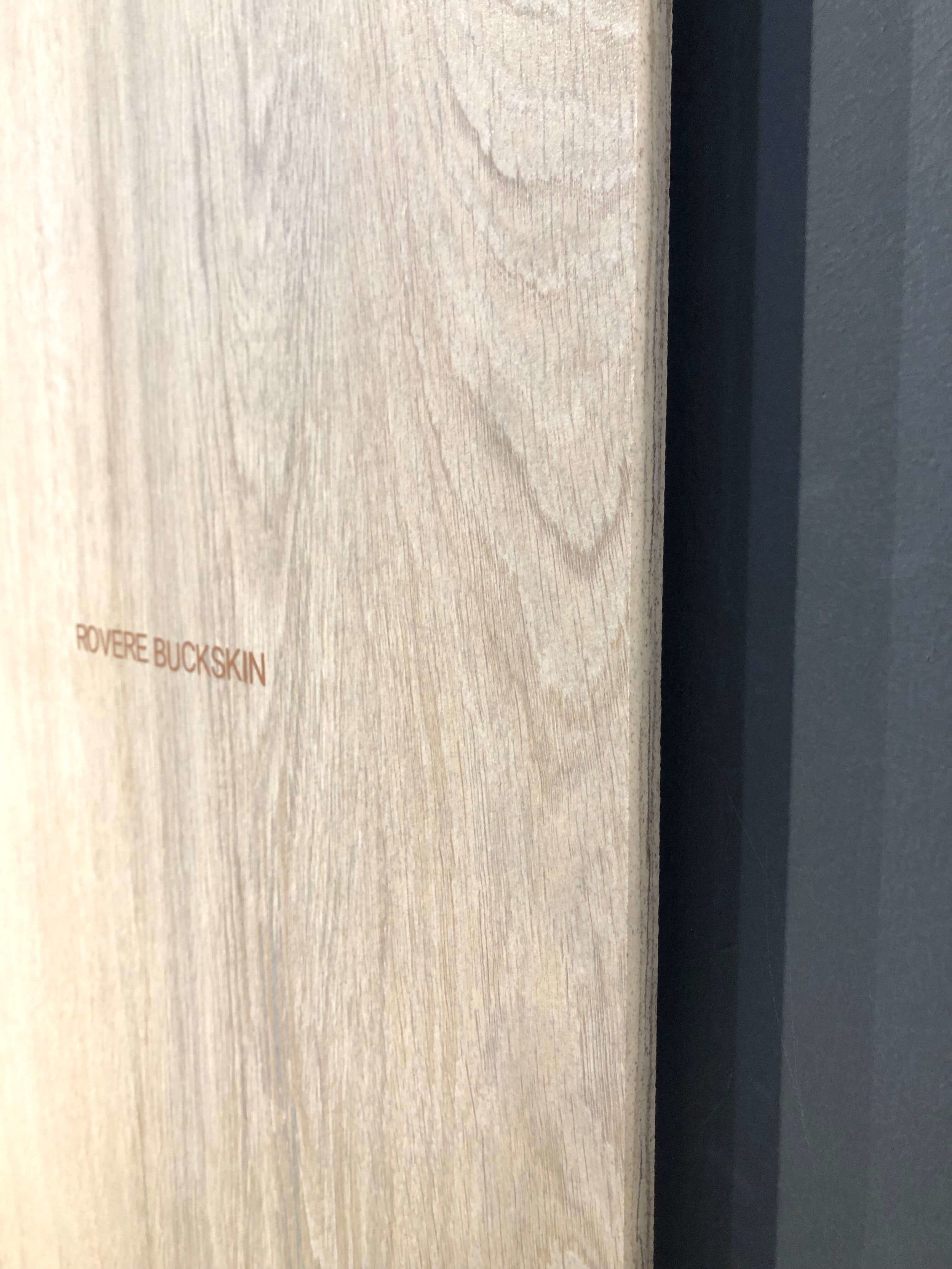 Wood look porcelain slab from Sapienstone | KBIS 2019 Surfaces Trends