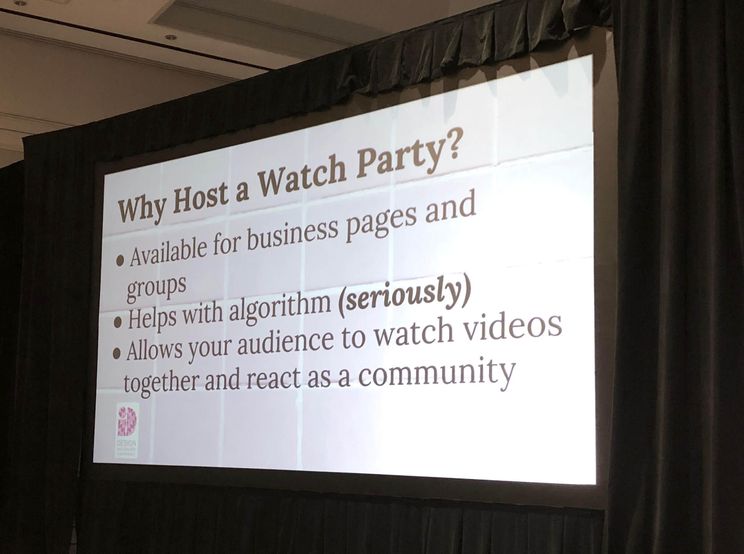 Slide from Shayla Copas' presentation Design Influencer's Conference