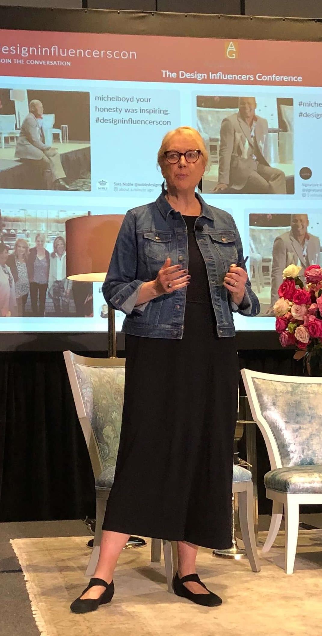 Linda Holt Design Influencers Conference speaker