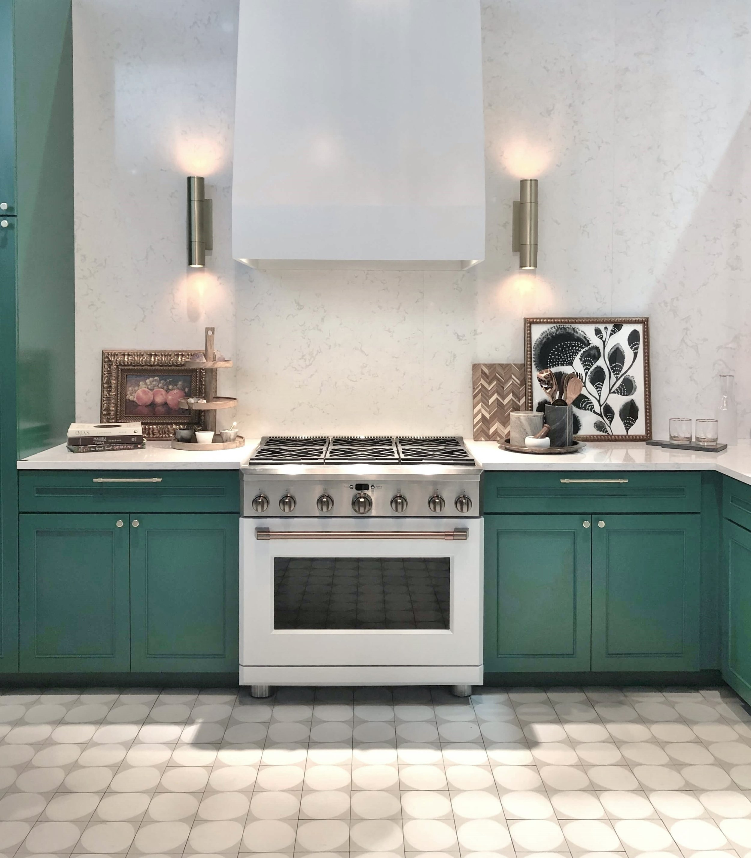 White appliances at GE Cafe | KBIS 2019 Finds