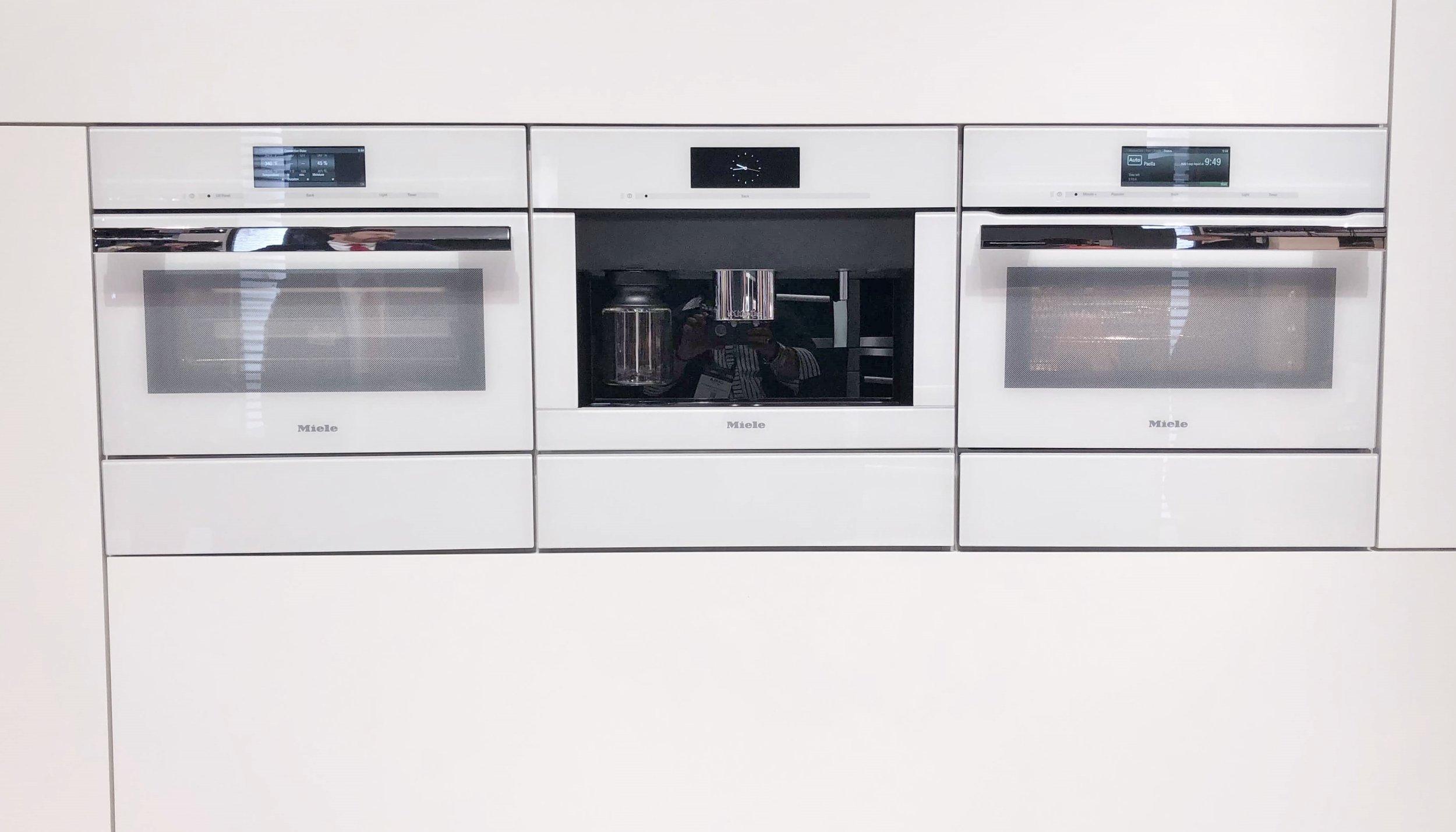 Miele white appliances