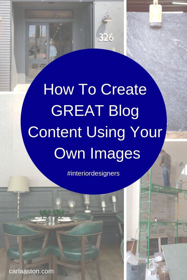 How To Create GREAT Blog Content Using Your Own Images