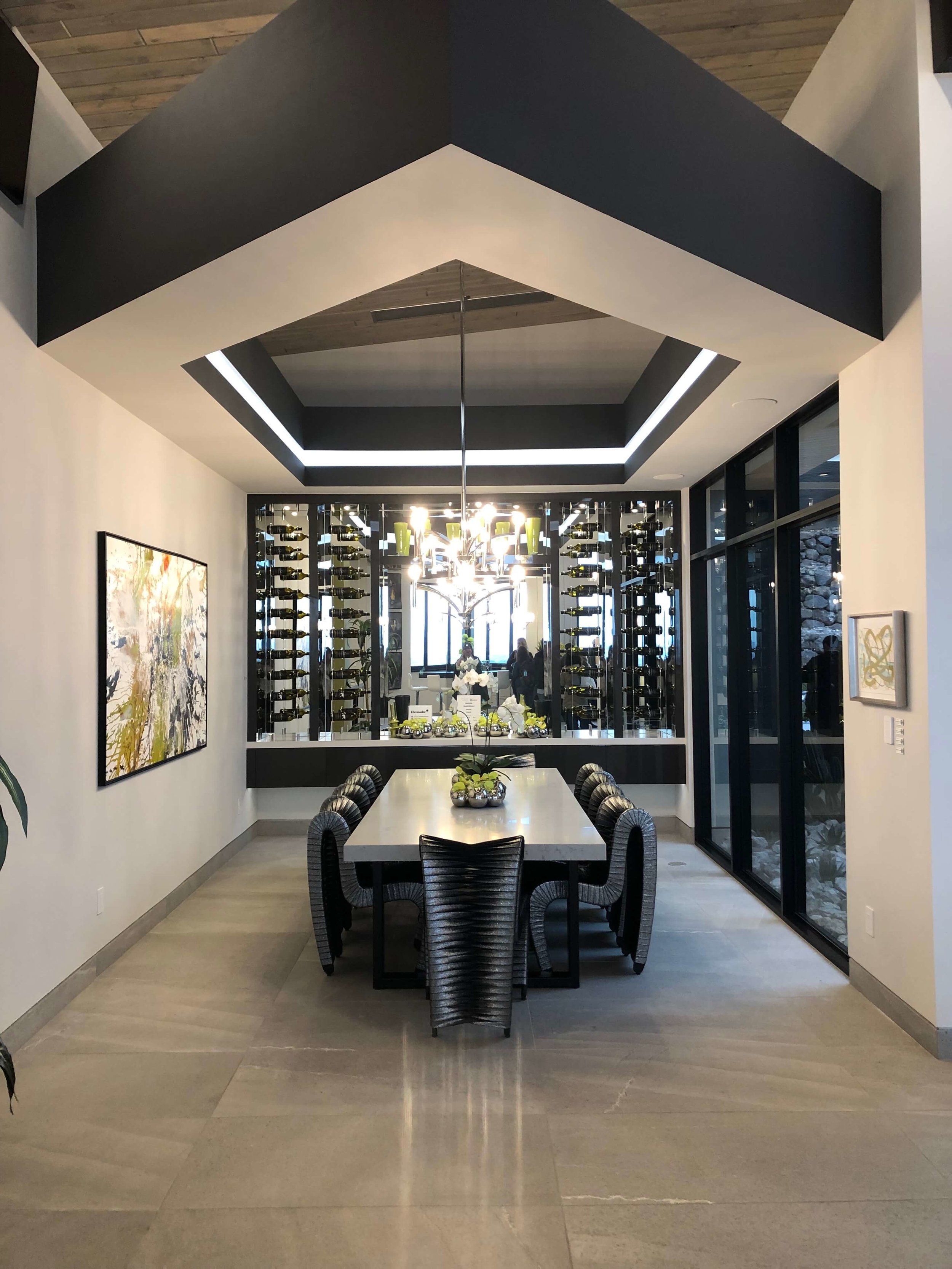 Dining Room, The New American Home Tour 2019 | Designed and built by Sun West Custom Homes #contemporaryhome