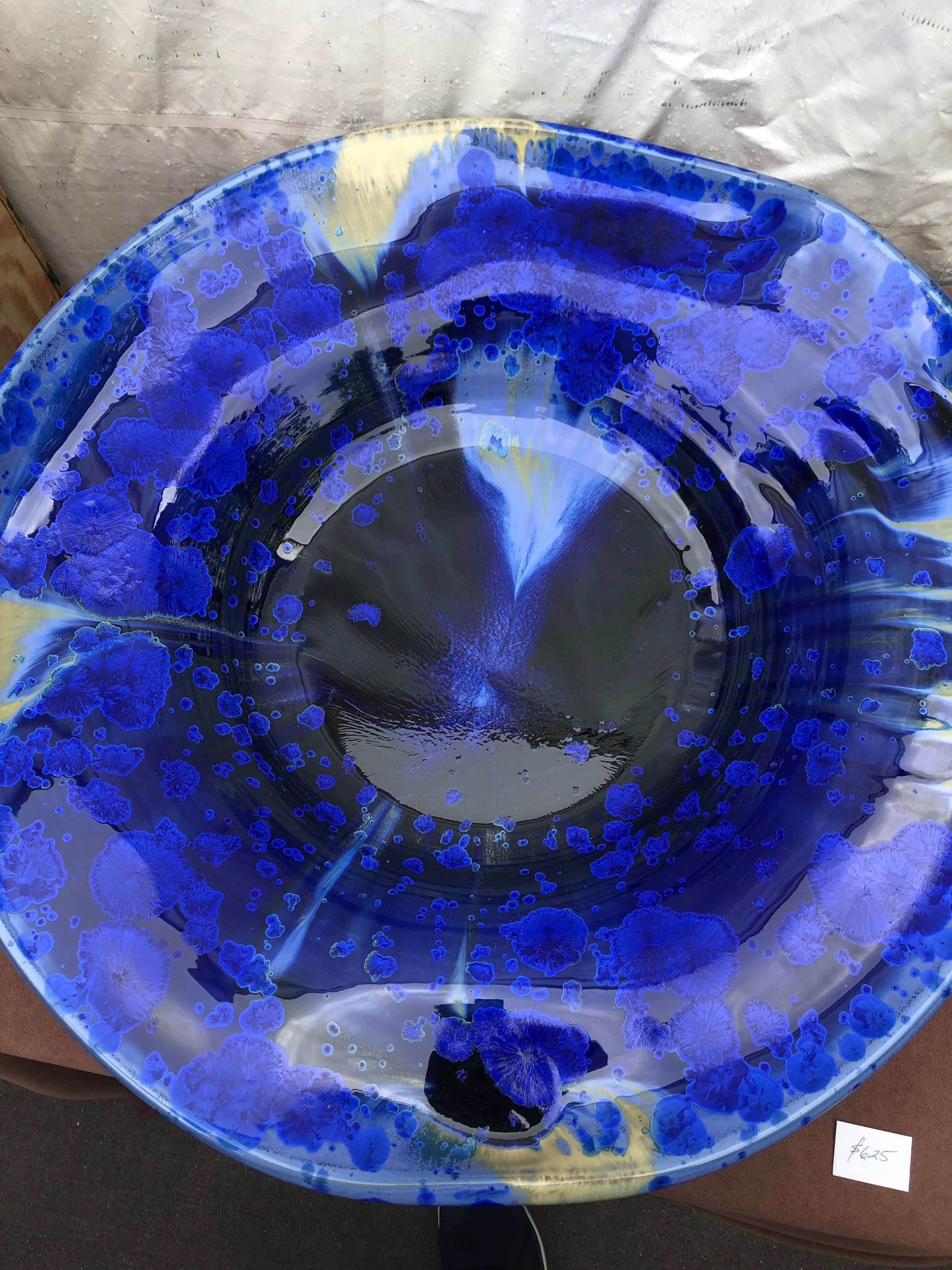 Studio McMillin ceramics seen at The Woodlands Waterway Art Festival